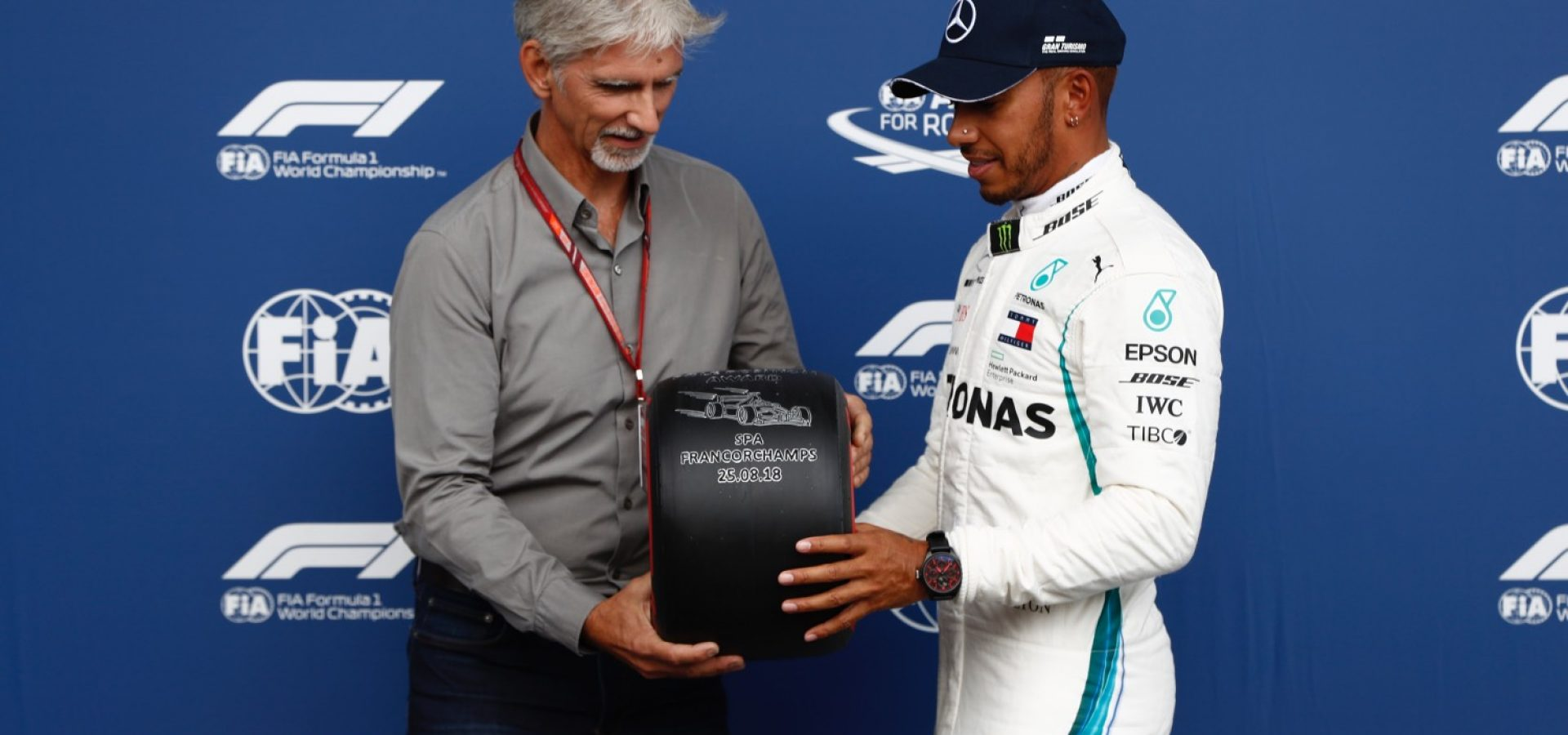 Damon Hill Lewis Hamilton Mercedes Pirelli