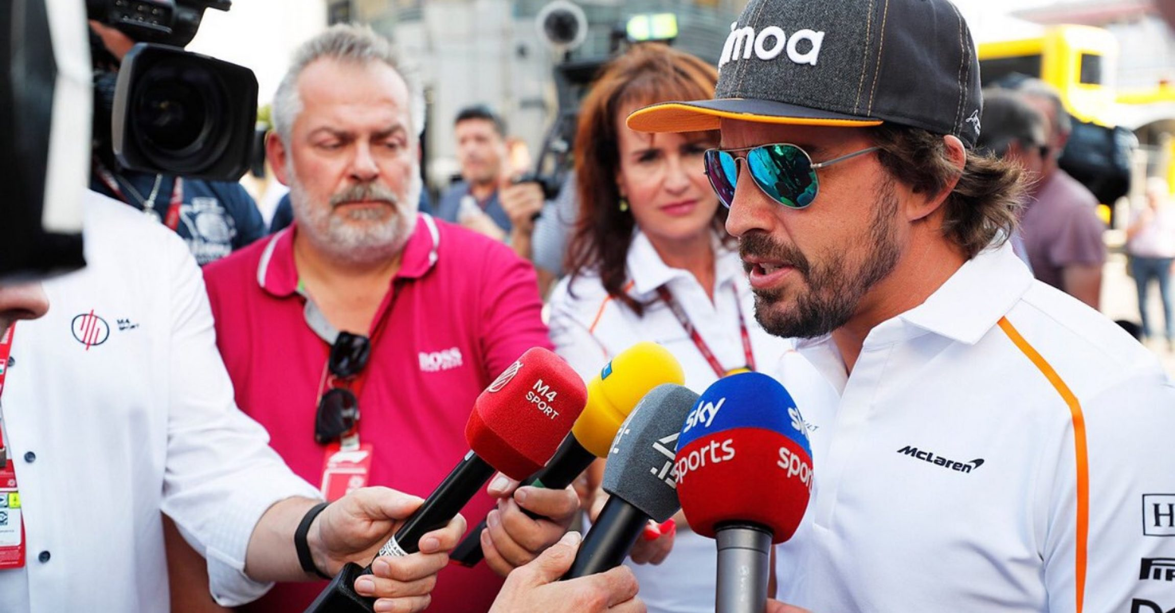 Fernando Alonso, McLaren, Monza, Sky Sports F1, M4 Sport
