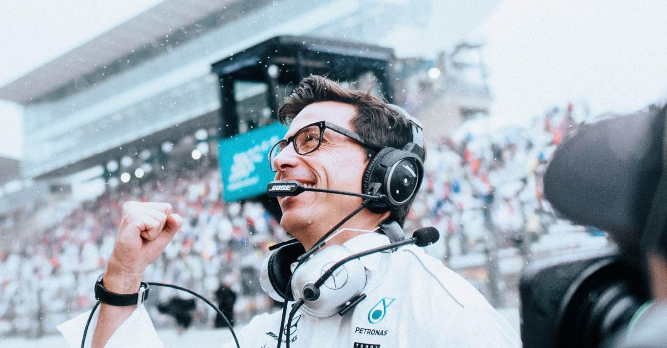 2018 Japanese Grand Prix, Saturday - Paul Ripke Toto Wolff Mercedes