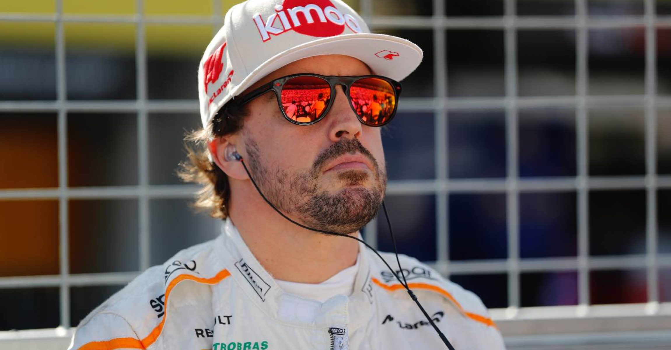 Suzuka Circuit, Suzuka, Japan Sunday 7 October 2018. Fernando Alonso, McLaren, on the grid. Photo: Steven Tee/McLaren ref: Digital Image _1ST6211