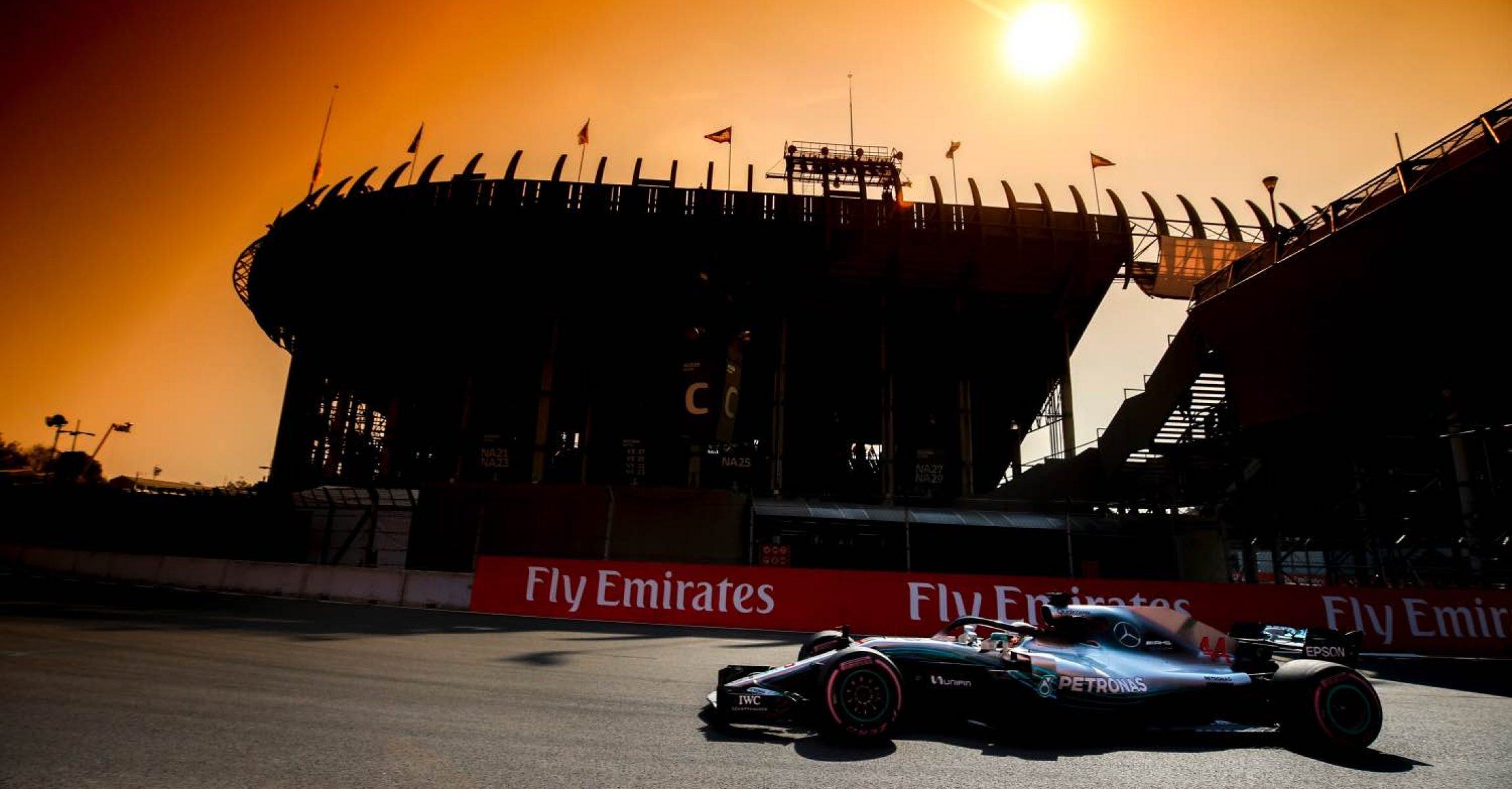 2018 Mexican Grand Prix, Friday - Wolfgang Wilhelm Lewis Hamilton Mercedes