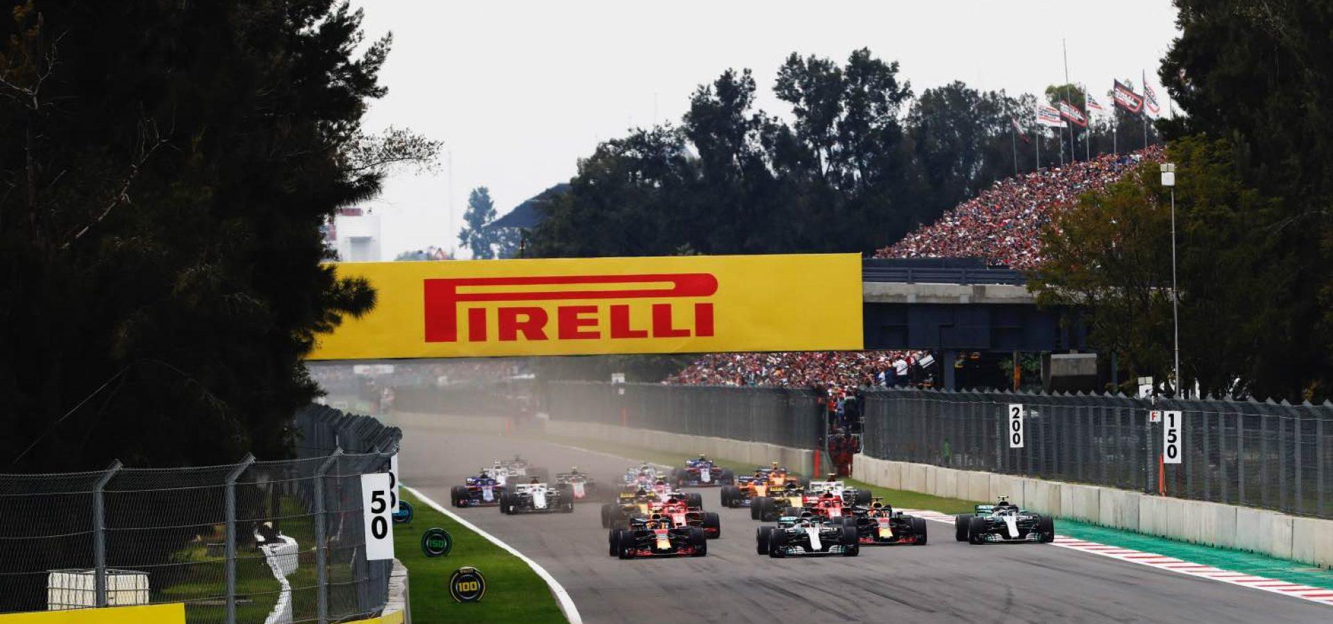 Mexico Grand Prix Start
