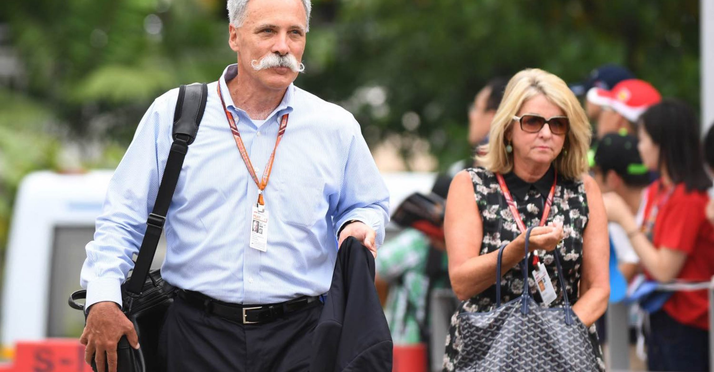 Chase Carey, Chief Executive Officer and Executive Chairman of the Formula One Group at Formula One World Championship, Rd15, Singapore Grand Prix, Qualifying, Marina Bay Circuit, Singapore, Saturday 15 September 2018.