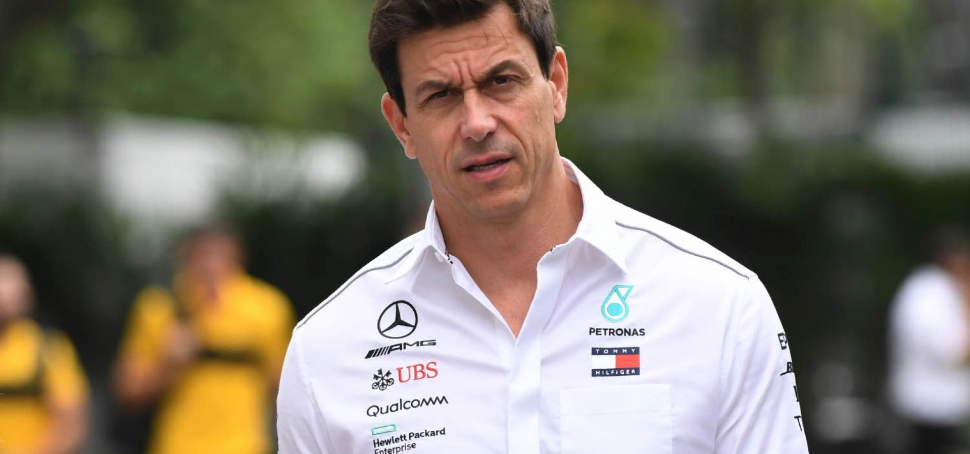 Toto Wolff, Mercedes AMG F1 Director of Motorsport at Formula One World Championship, Rd15, Singapore Grand Prix, Race, Marina Bay Circuit, Singapore, Sunday 16 September 2018.