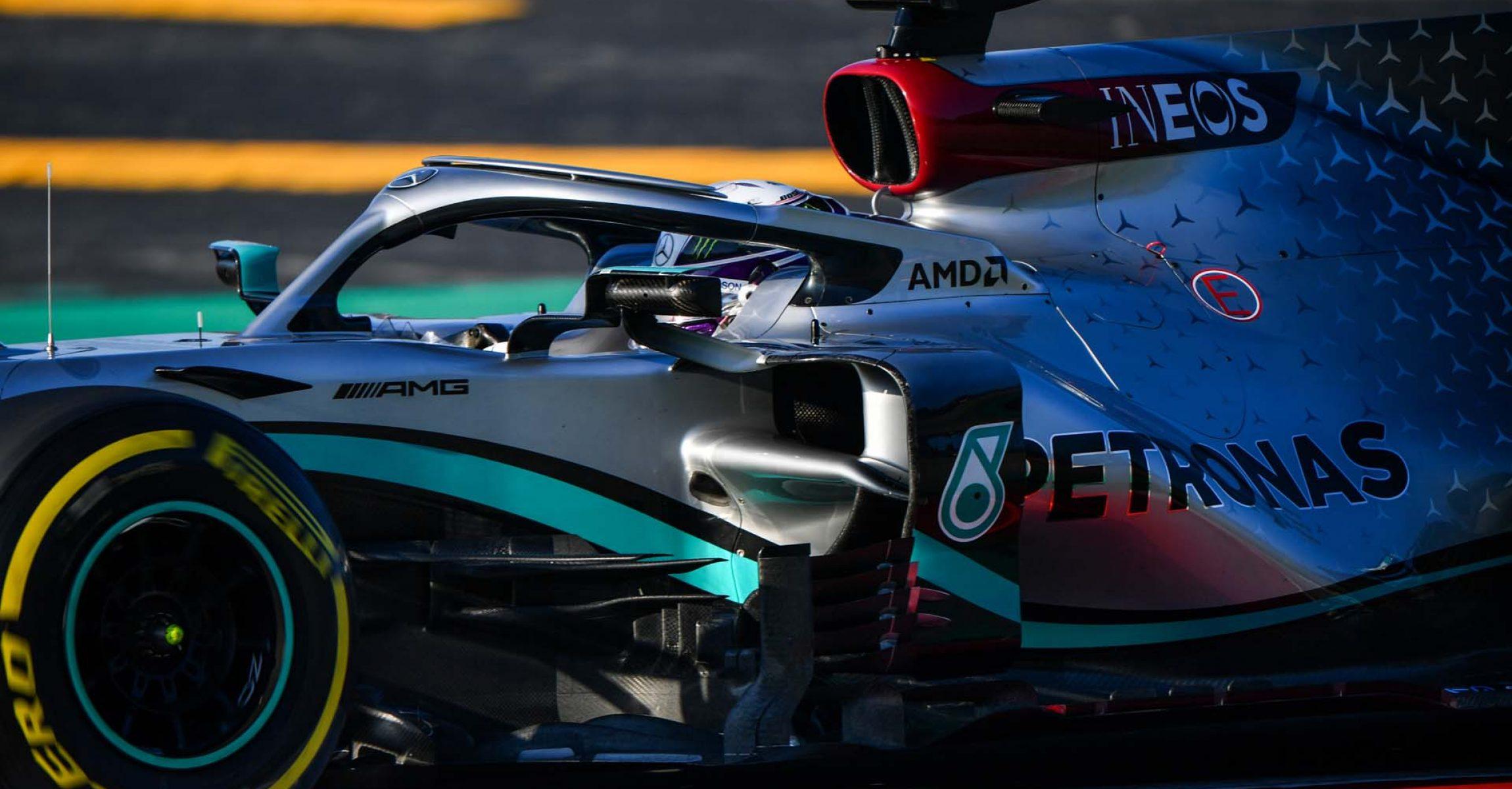 2020 Barcelona Pre-Season Test 1, Day 2 - LAT Images Lewis Hamilton Mercedes