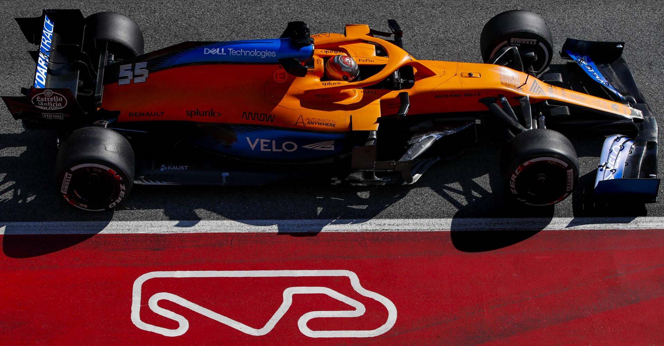 Carlos Sainz, McLaren MCL35