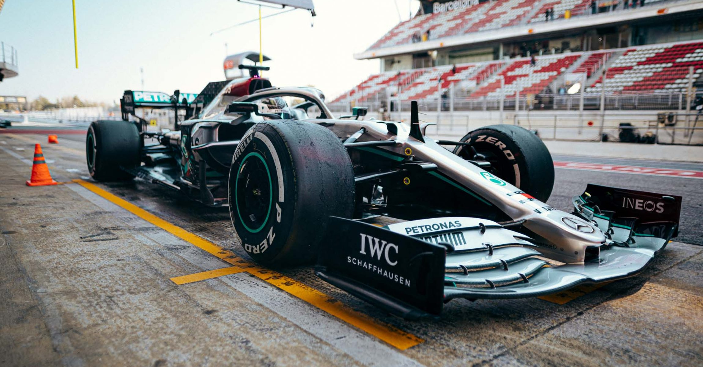 2020 Barcelona Pre-Season Test 1, Day 3 - Sebastian Kawka Valtteri Bottas Mercedes