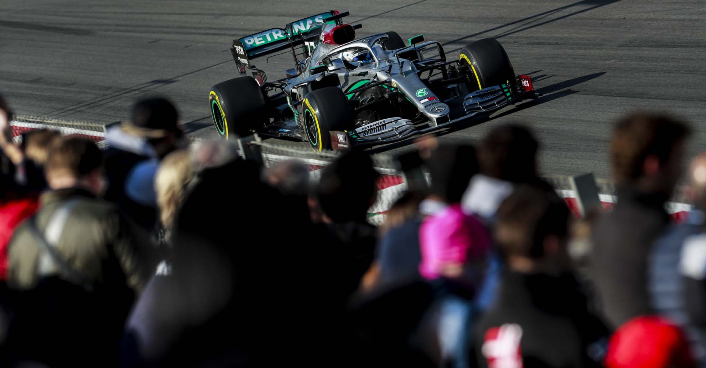 2020 Barcelona Pre-Season Test 1, Day 3 - LAT Images Valtteri Bottas Mercedes