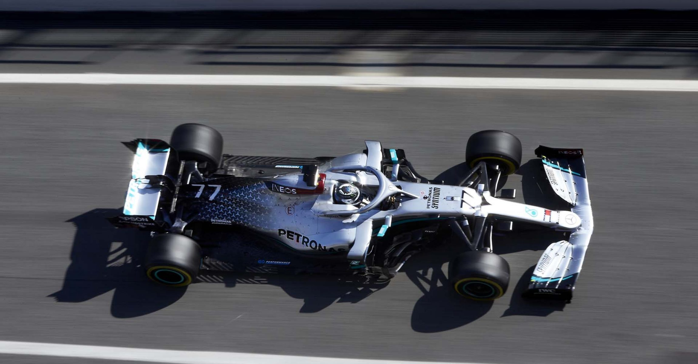 2020 Barcelona Pre-Season Test 1, Day 3 - Steve Etherington Valtteri Bottas Mercedes