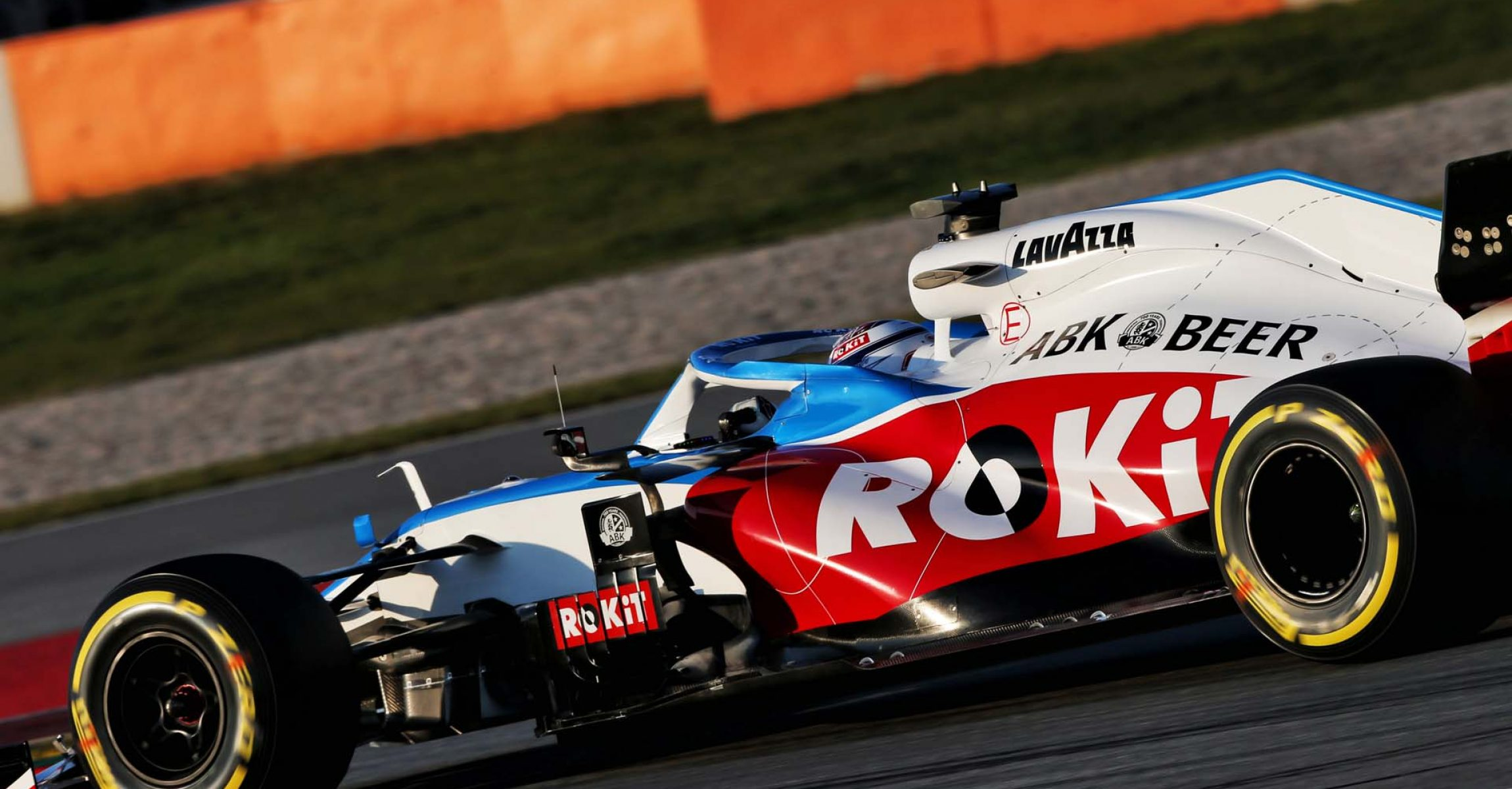 Nicholas Latifi (CDN) Williams Racing FW43. Formula One Testing, Day 3, Friday 21st February 2020. Barcelona, Spain.