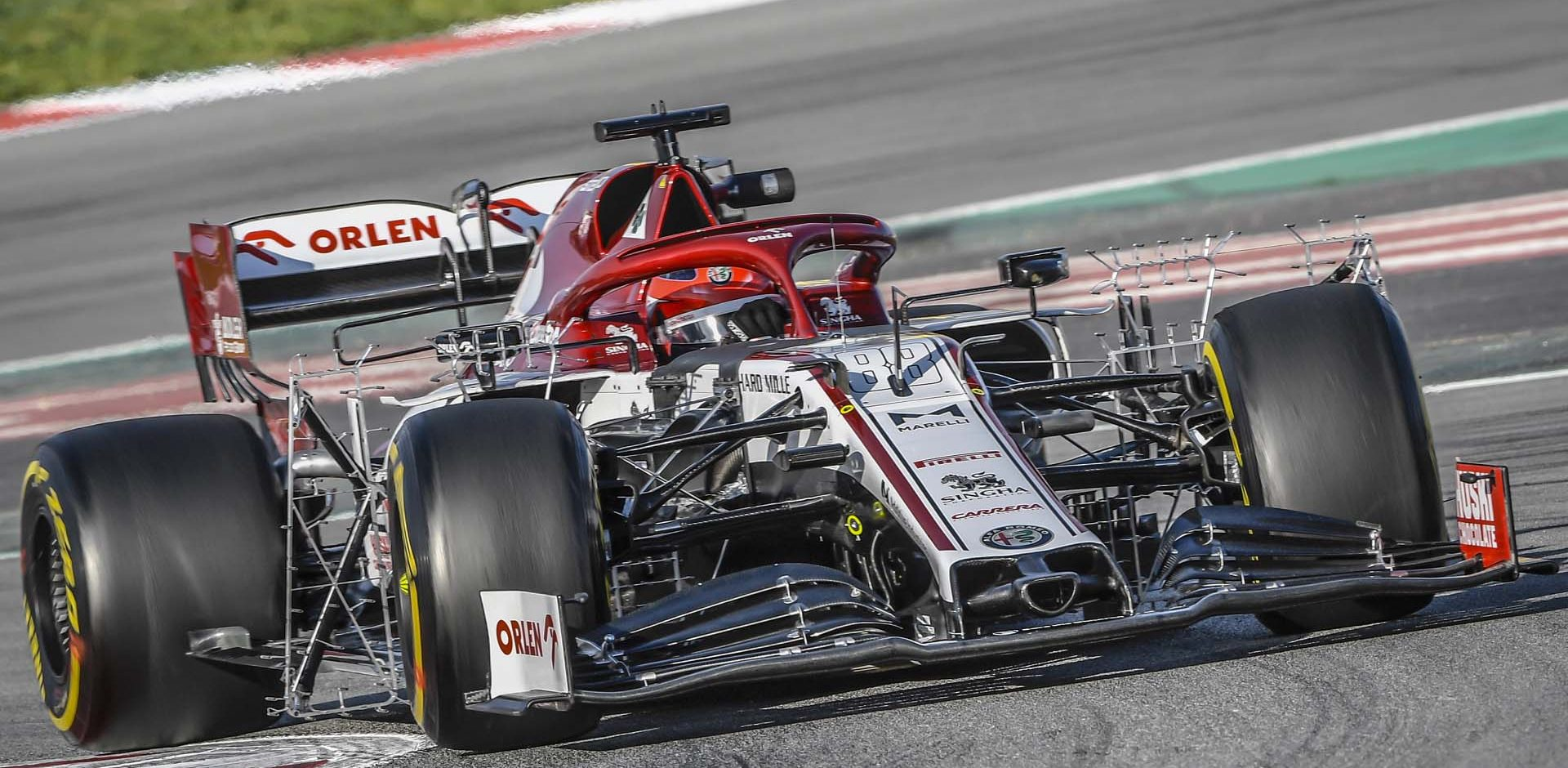 88 KUBICA Robert (pol), Alfa Romeo Racing C39, action  during the second session of the Formula 1 Pre-season testing 2020 from February 26 to 28, 2020 on the Circuit de Barcelona-Catalunya, in Montmelo, Barcelona, Spain - Photo Eric Vargiolu / DPPI