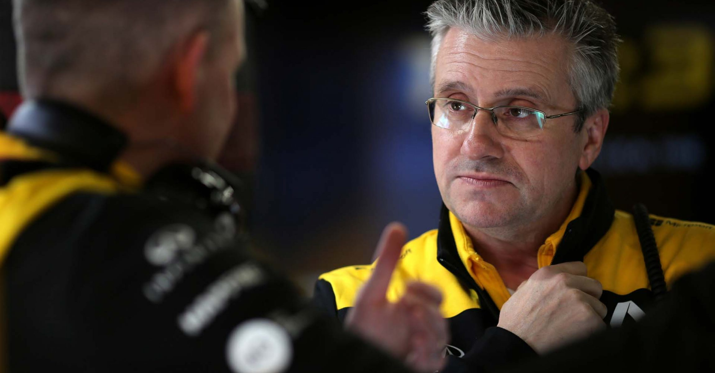 Pat Fry (GBR) Renault F1 Team Technical Director (Chassis). Formula One Testing, Day 1, Wednesday 26th February 2020. Barcelona, Spain.