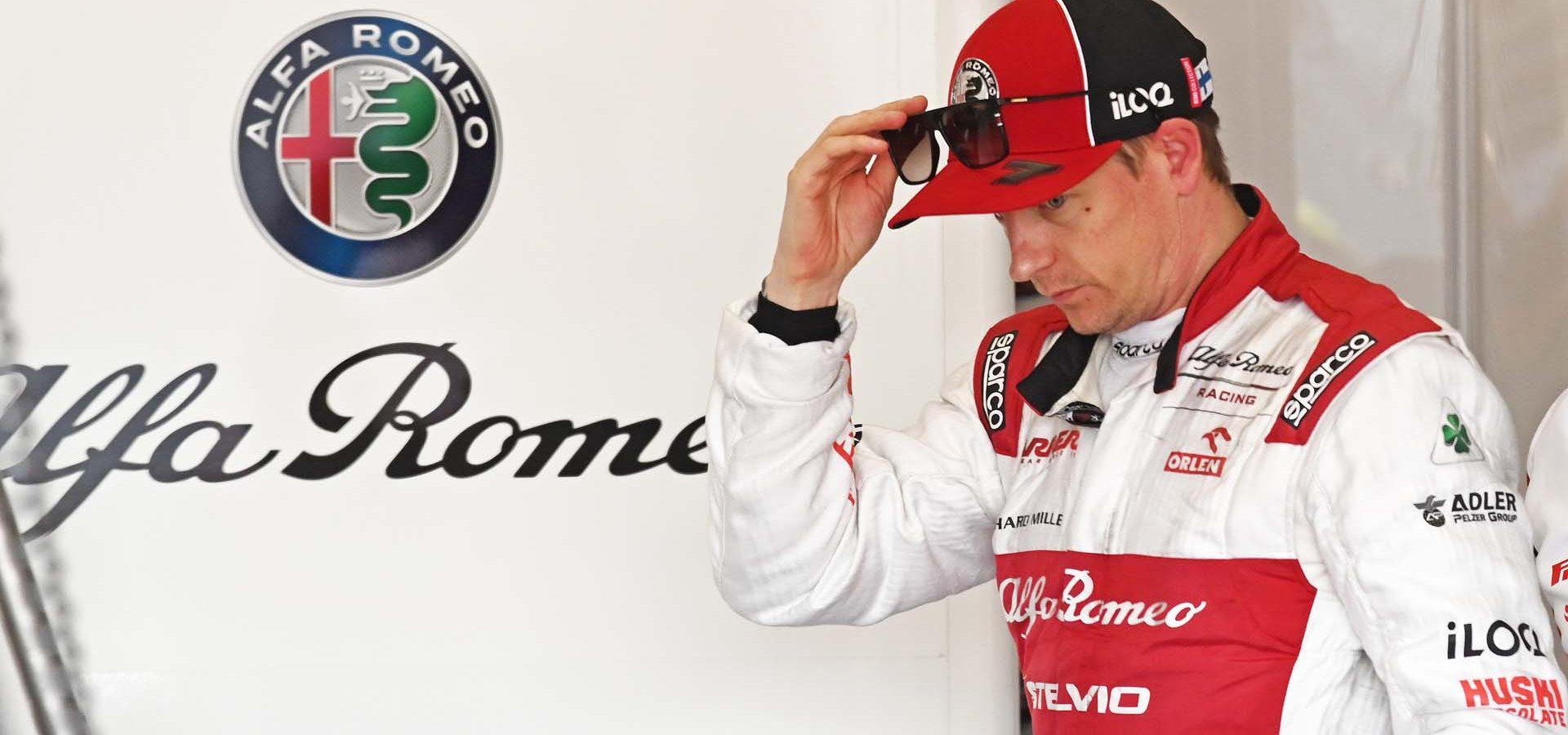 RAIKKONEN Kimi Räikkönen (fin), Alfa Romeo Racing C39, portrait  during the second session of the Formula 1 Pre-season testing 2020 from February 26 to 28, 2020 on the Circuit de Barcelona-Catalunya, in Montmelo, Barcelona, Spain - Photo Eric Vargiolu / DPPI