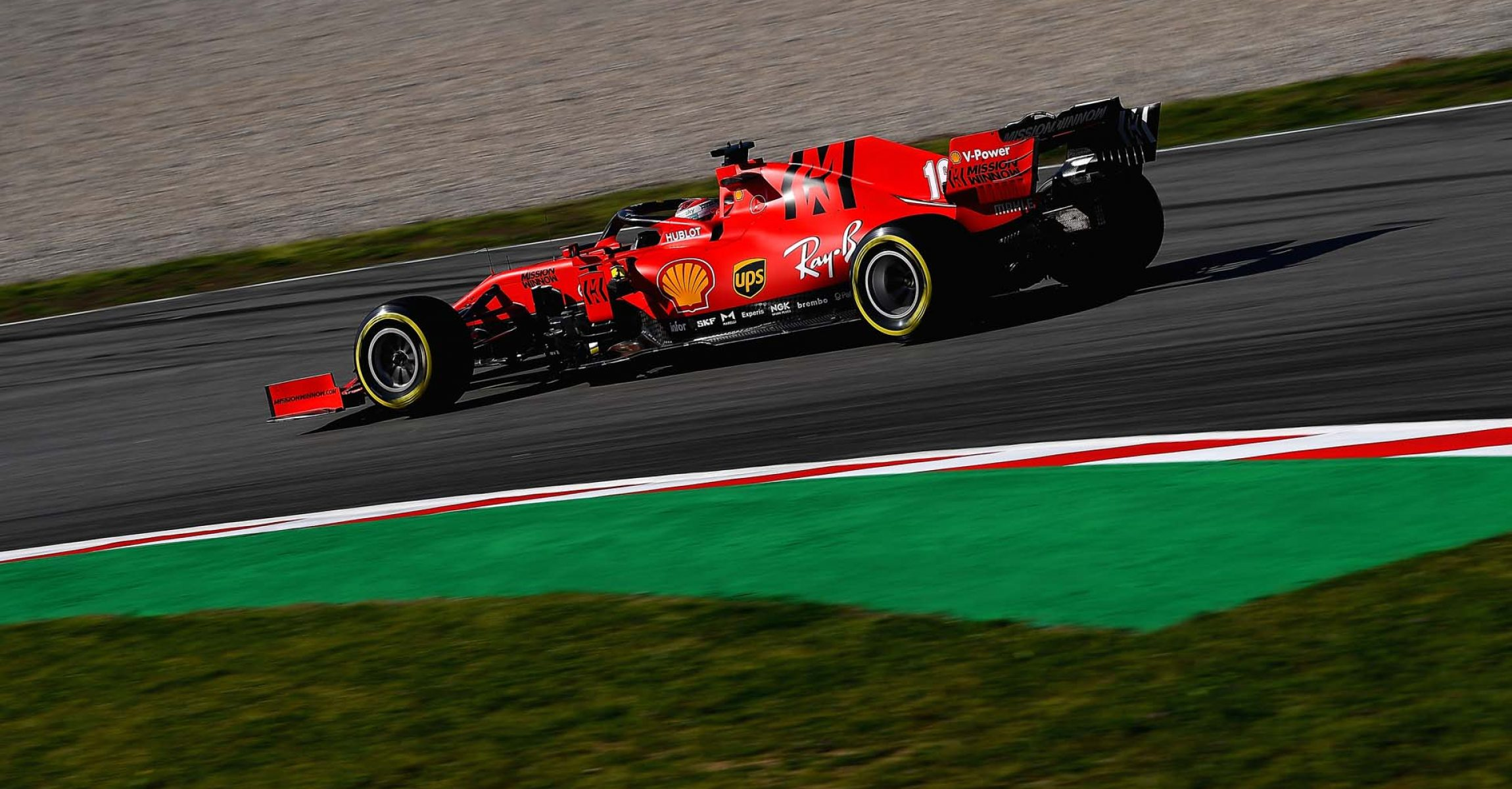 TEST T2 BARCELLONA - VENERDÌ 28/02/20  - CHARLES LECLERC  © Scuderia Ferrari Press Office
