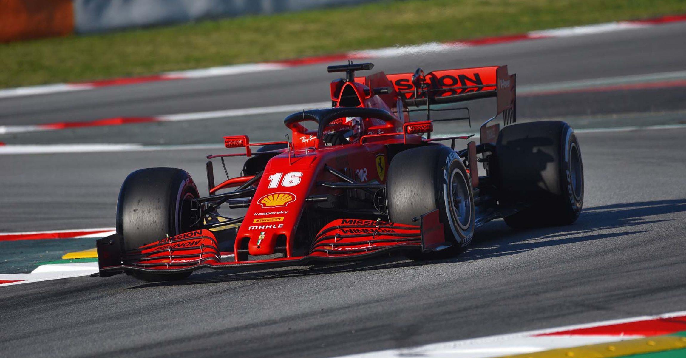 TEST T2 BARCELLONA - VENERDÌ 28/02/20  - CHARLES LECLERC  © Scuderia Ferrari Press Office