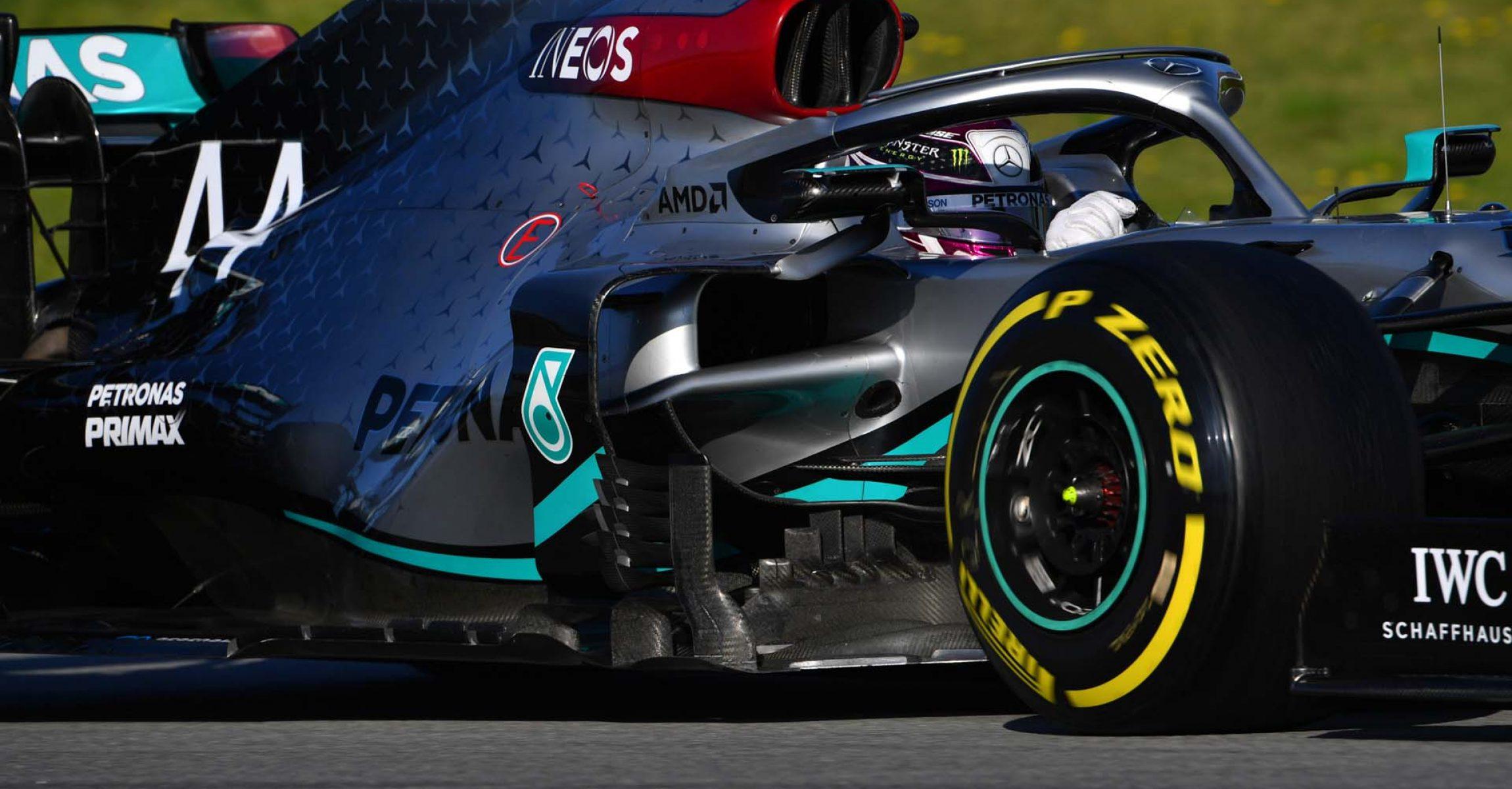 2020 Barcelona Pre-Season Test 2, Day 3 - LAT Images Lewis Hamilton Mercedes