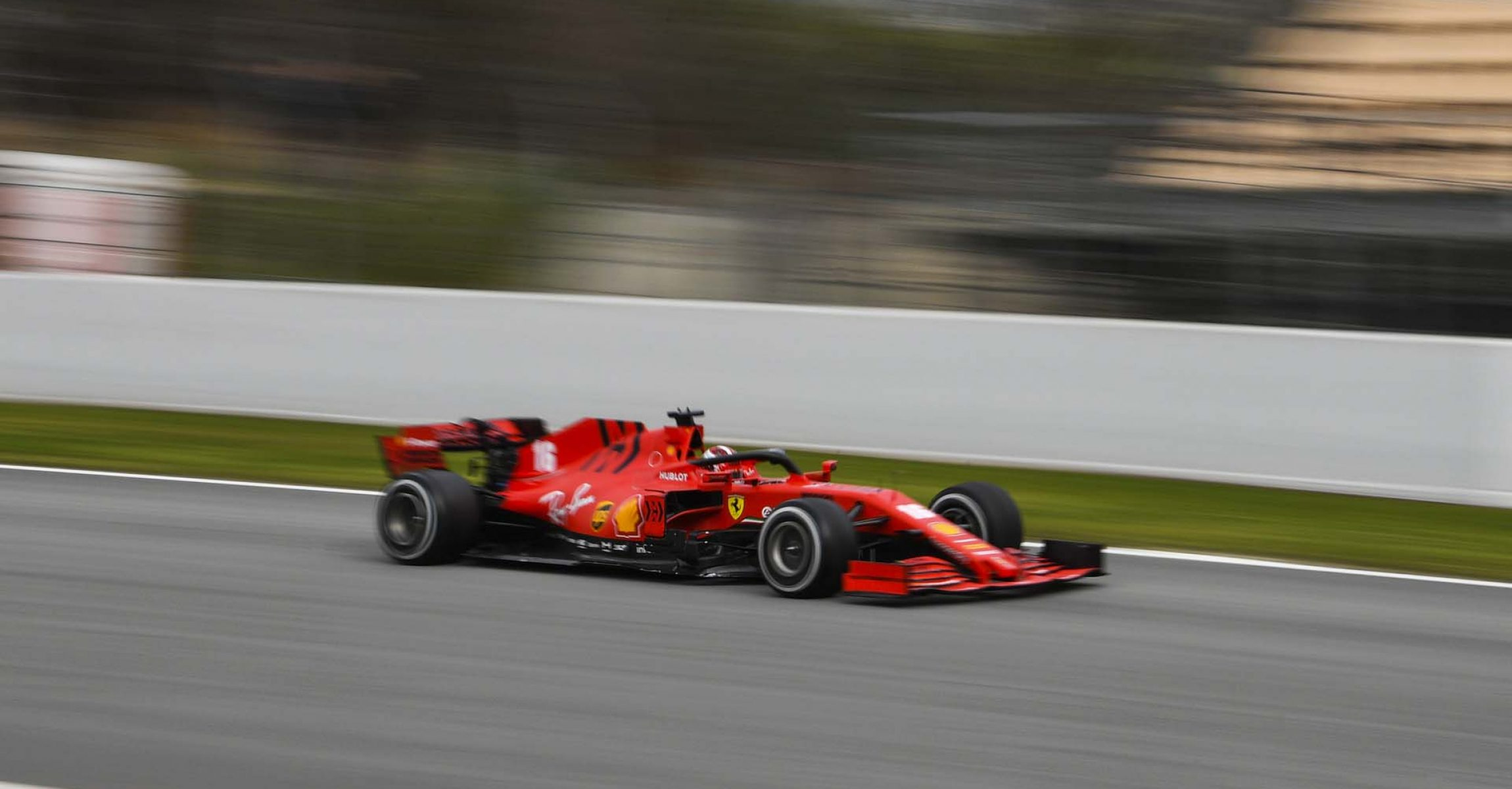 CIRCUIT DE BARCELONA-CATALUNYA, SPAIN - FEBRUARY 28: Charles Leclerc, Ferrari SF1000 during the Barcelona February testing II at Circuit de Barcelona-Catalunya on February 28, 2020 in Circuit de Barcelona-Catalunya, Spain. (Photo by Mark Sutton / LAT Images)