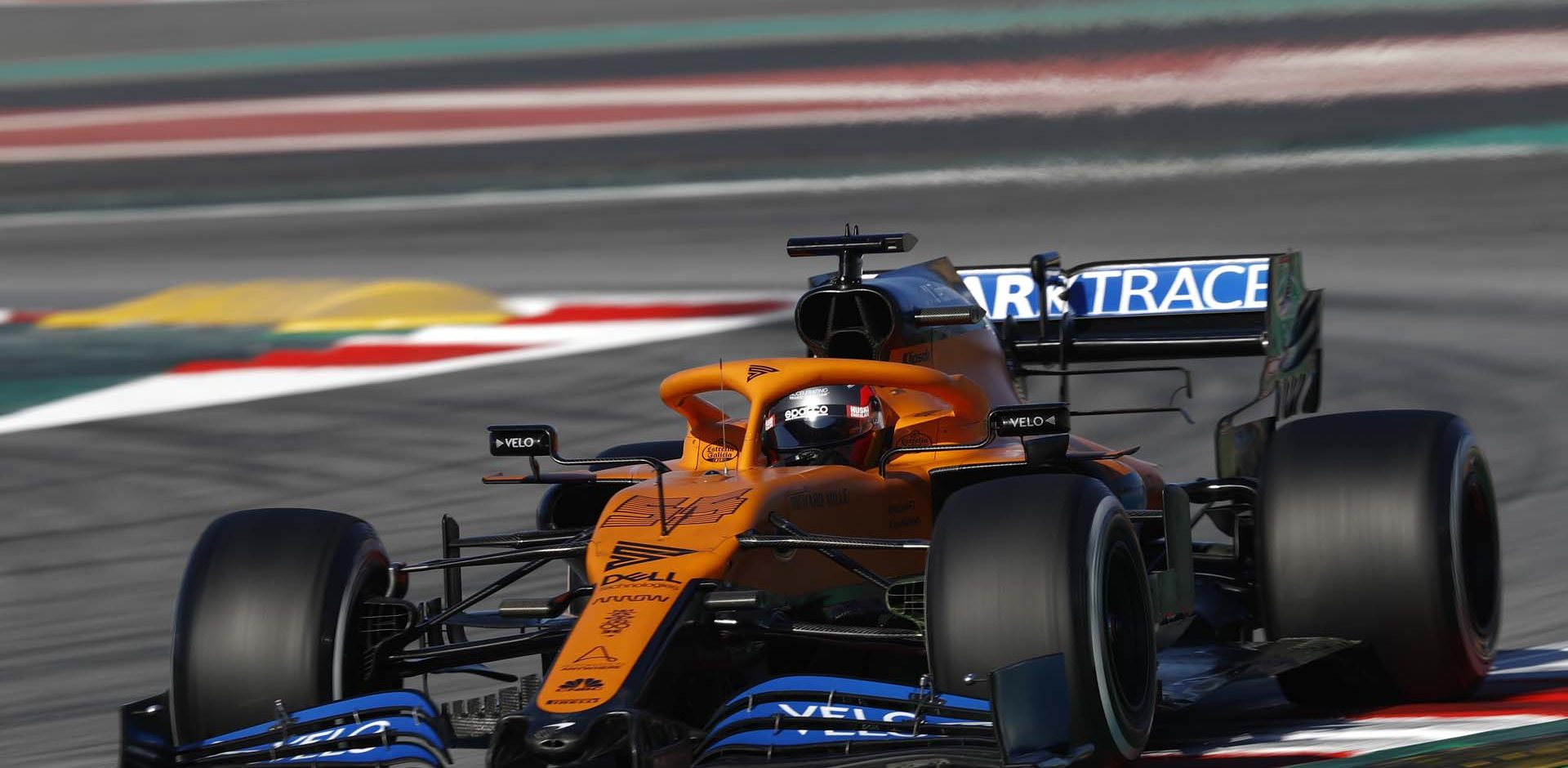 CIRCUIT DE BARCELONA-CATALUNYA, SPAIN - FEBRUARY 28: Carlos Sainz, McLaren MCL35 during the Barcelona February testing II at Circuit de Barcelona-Catalunya on February 28, 2020 in Circuit de Barcelona-Catalunya, Spain. (Photo by Glenn Dunbar / LAT Images)