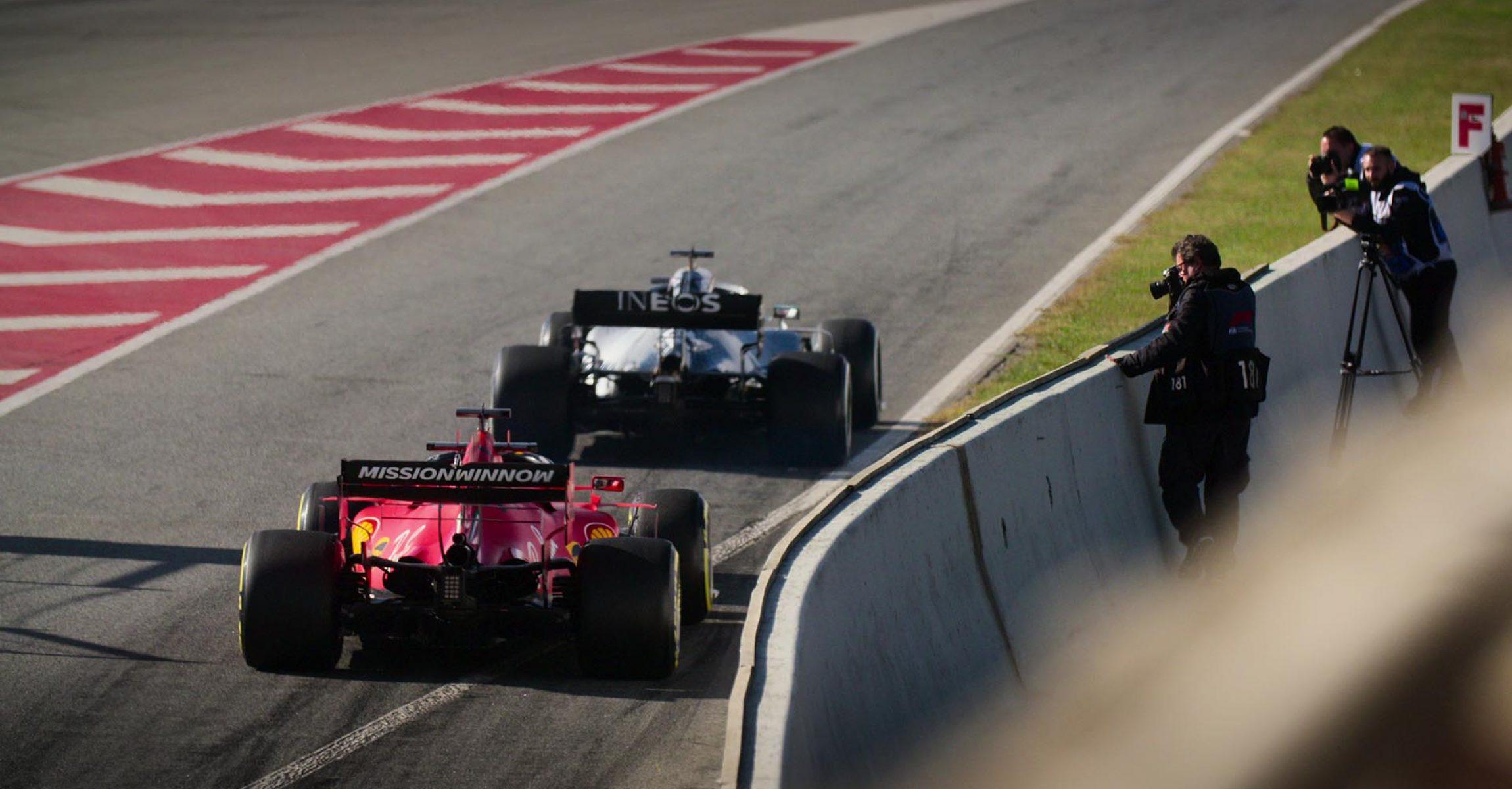 Lewis Hamilton, Sebastian Vettel, Ferrari, Mercedes