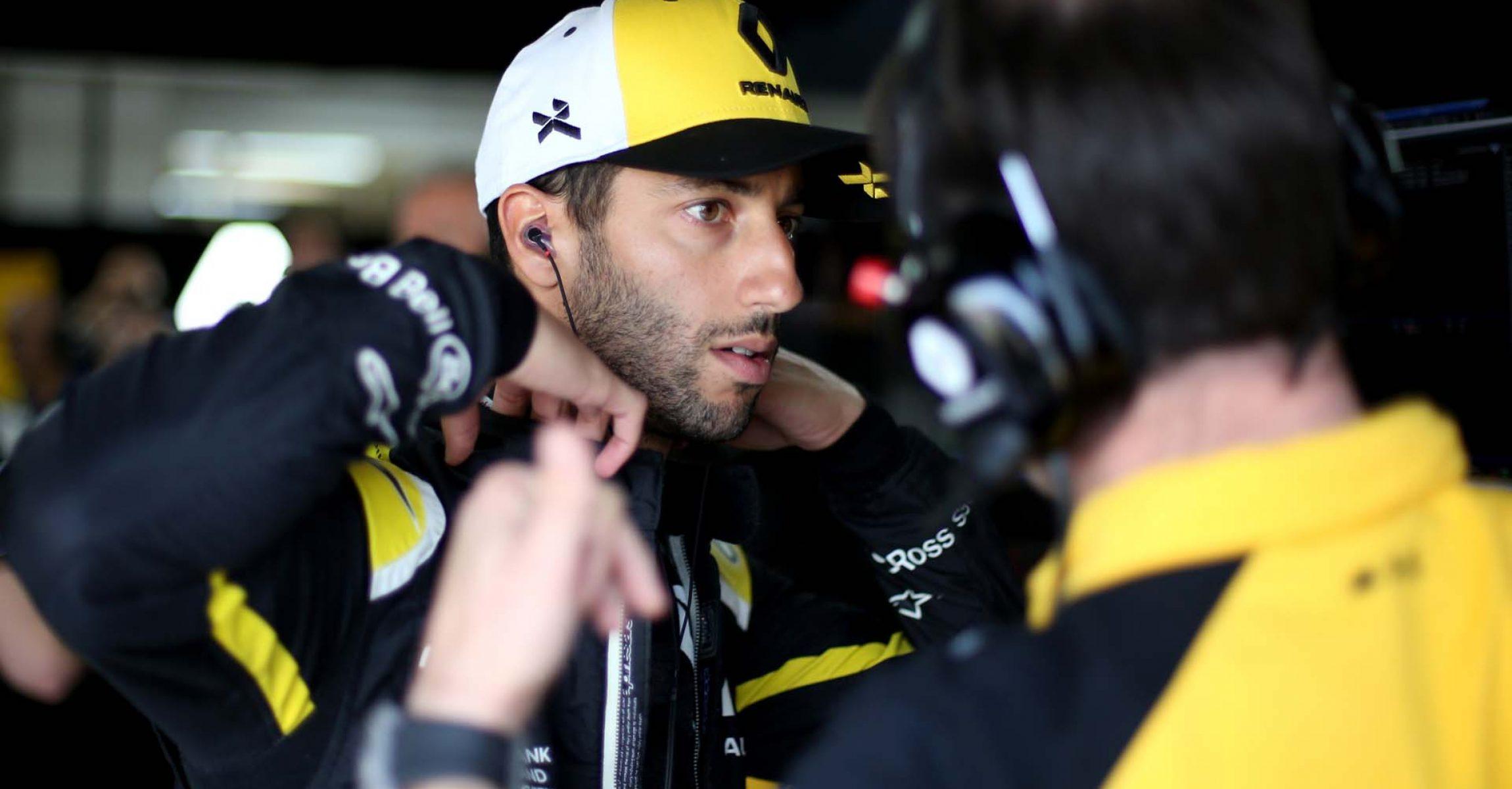 Daniel Ricciardo (AUS) Renault F1 Team. French Grand Prix, Friday 21st June 2019. Paul Ricard, France.