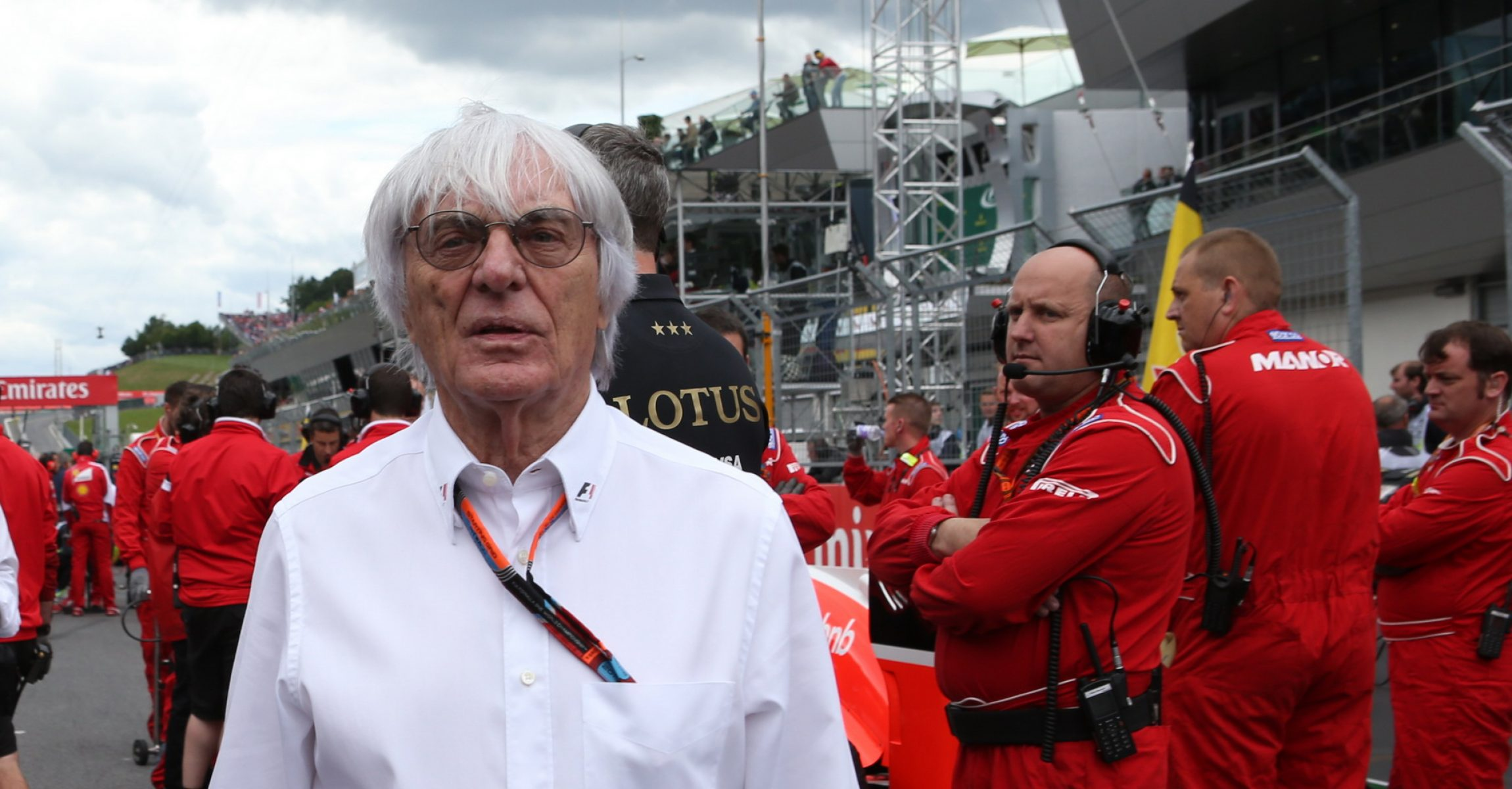 SPIELBERG,AUSTRIA,21.JUN.15 - MOTORSPORTS, FORMULA 1 - Grand Prix of Austria, Red Bull Ring. Image shows Bernie Ecclestone. Photo: GEPA pictures/ Andreas Pranter - For editorial use only. Image is free of charge.