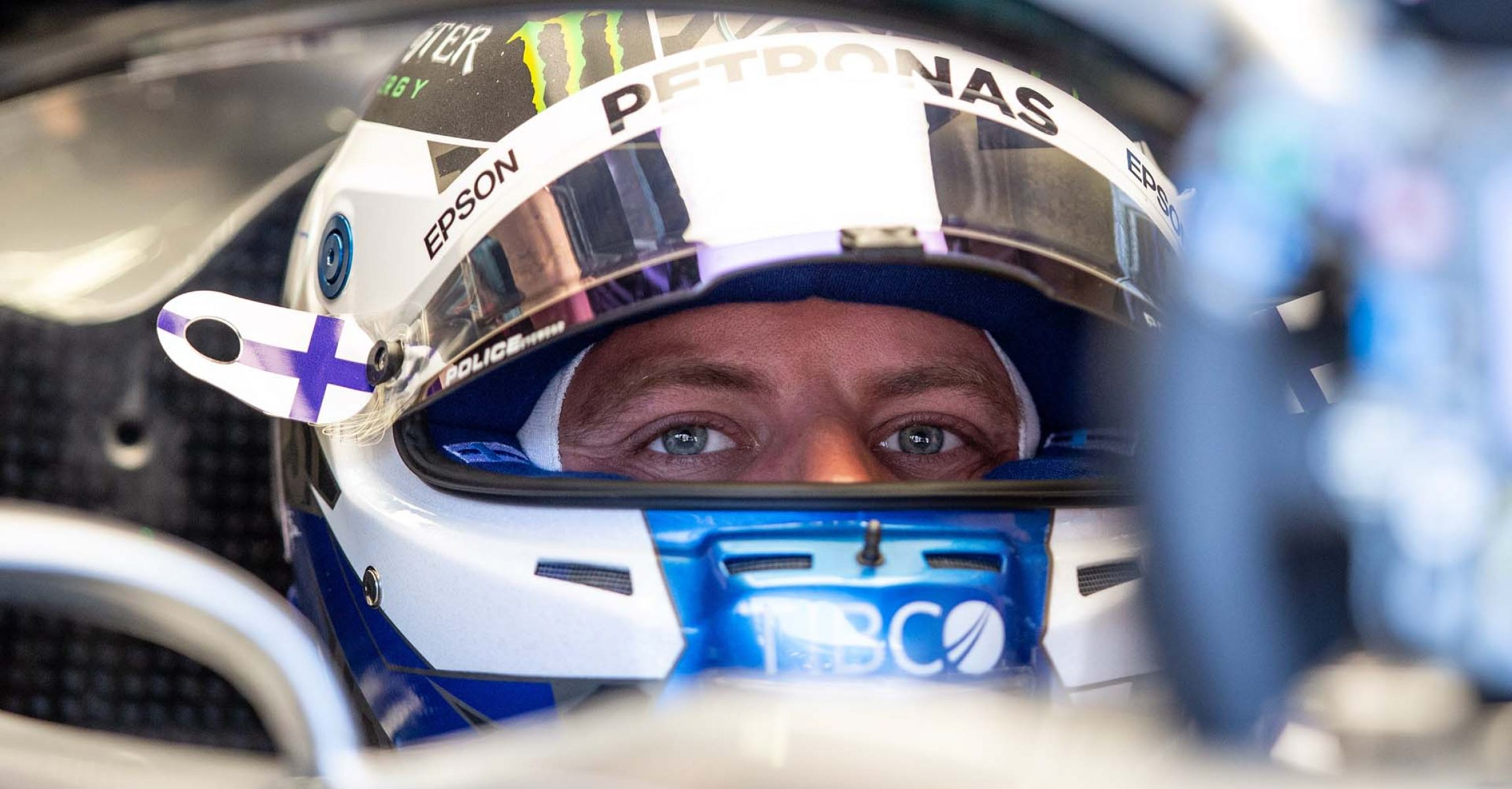 SPIELBERG,AUSTRIA,28.JUN.19 - MOTORSPORTS, FORMULA 1 - Grand Prix of Austria, Red Bull Ring, free practice. Image shows Valtteri Bottas (FIN/ Mercedes). Photo: GEPA pictures/ Harald Steiner - For editorial use only. Image is free of charge.