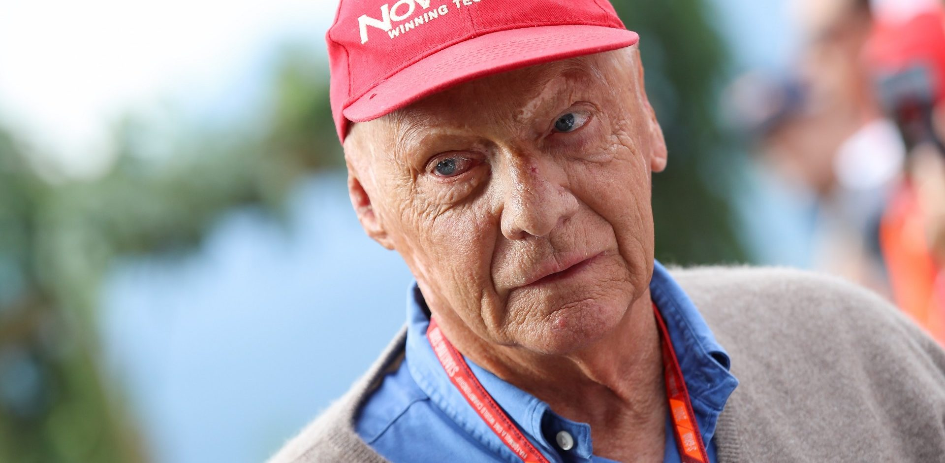 SPIELBERG,AUSTRIA,08.JUL.17 - MOTORSPORTS, FORMULA 1 - Grand Prix of Austria, Red Bull Ring, Styrian Green Carpet. Image shows  chairman of the advisory board Niki Lauda (Mercedes). Photo: GEPA pictures/ Christian Walgram - For editorial use only. Image is free of charge.