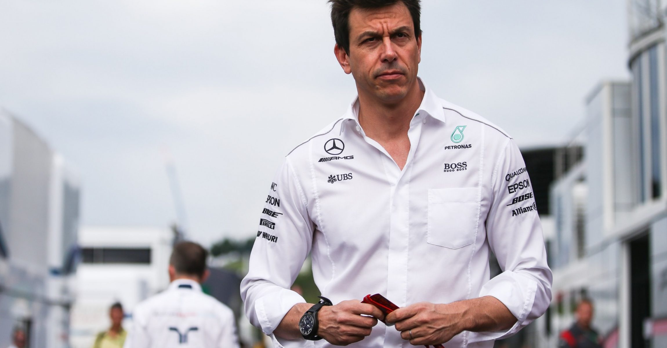 SPIELBERG,AUSTRIA,08.JUL.17 - MOTORSPORTS, FORMULA 1 - Grand Prix of Austria, Red Bull Ring, free practice. Image shows executive director Toto Wolff (Mercedes). Photo: GEPA pictures/ Daniel Goetzhaber - For editorial use only. Image is free of charge.