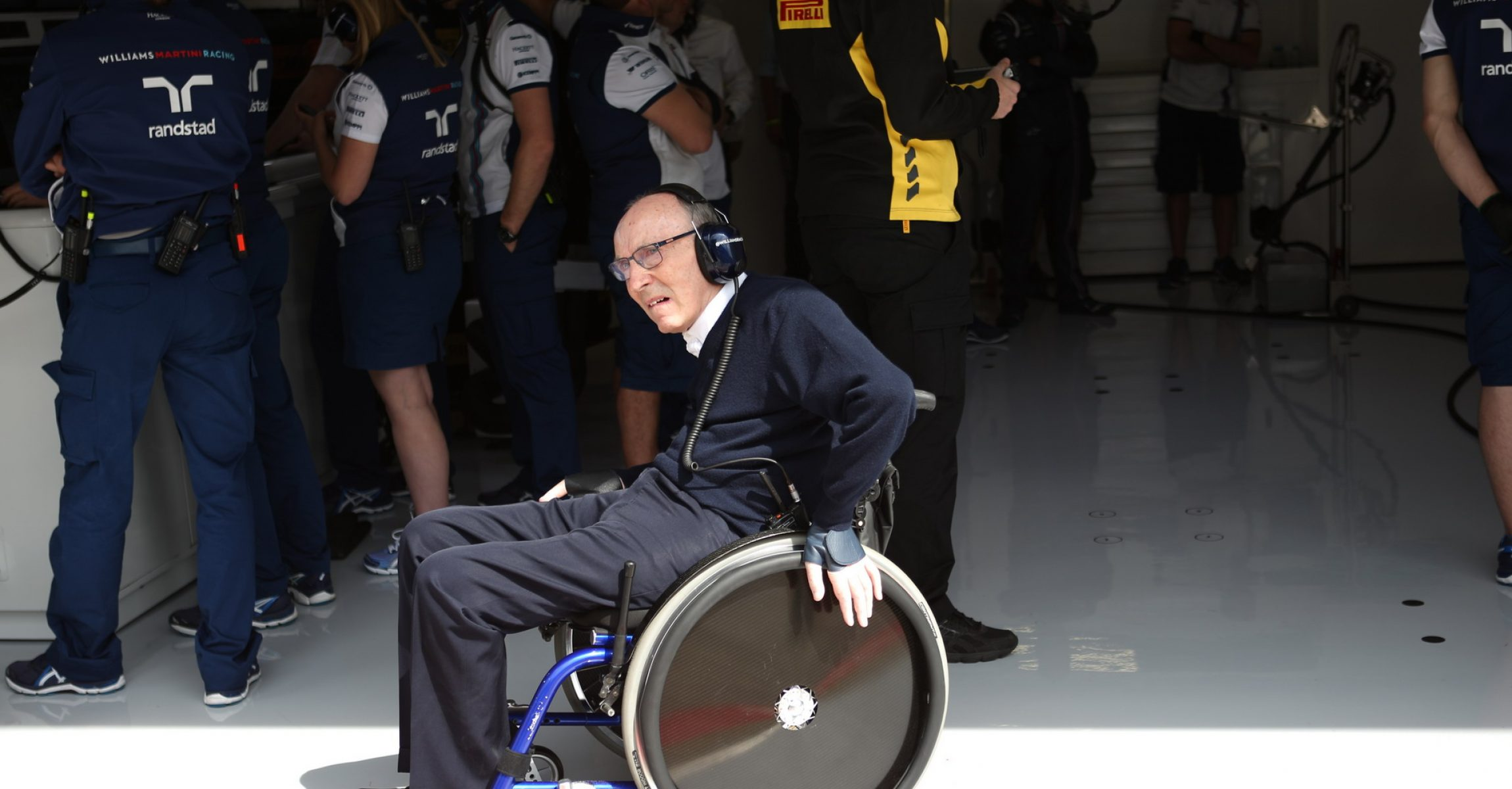 SPIELBERG,AUSTRIA,19.JUN.15 - MOTORSPORTS, FORMULA 1 - Grand Prix of Austria, Red Bull Ring, free practice. Image shows team owner Frank Williams (Williams).. Photo: GEPA pictures/ Andreas Pranter - For editorial use only. Image is free of charge.