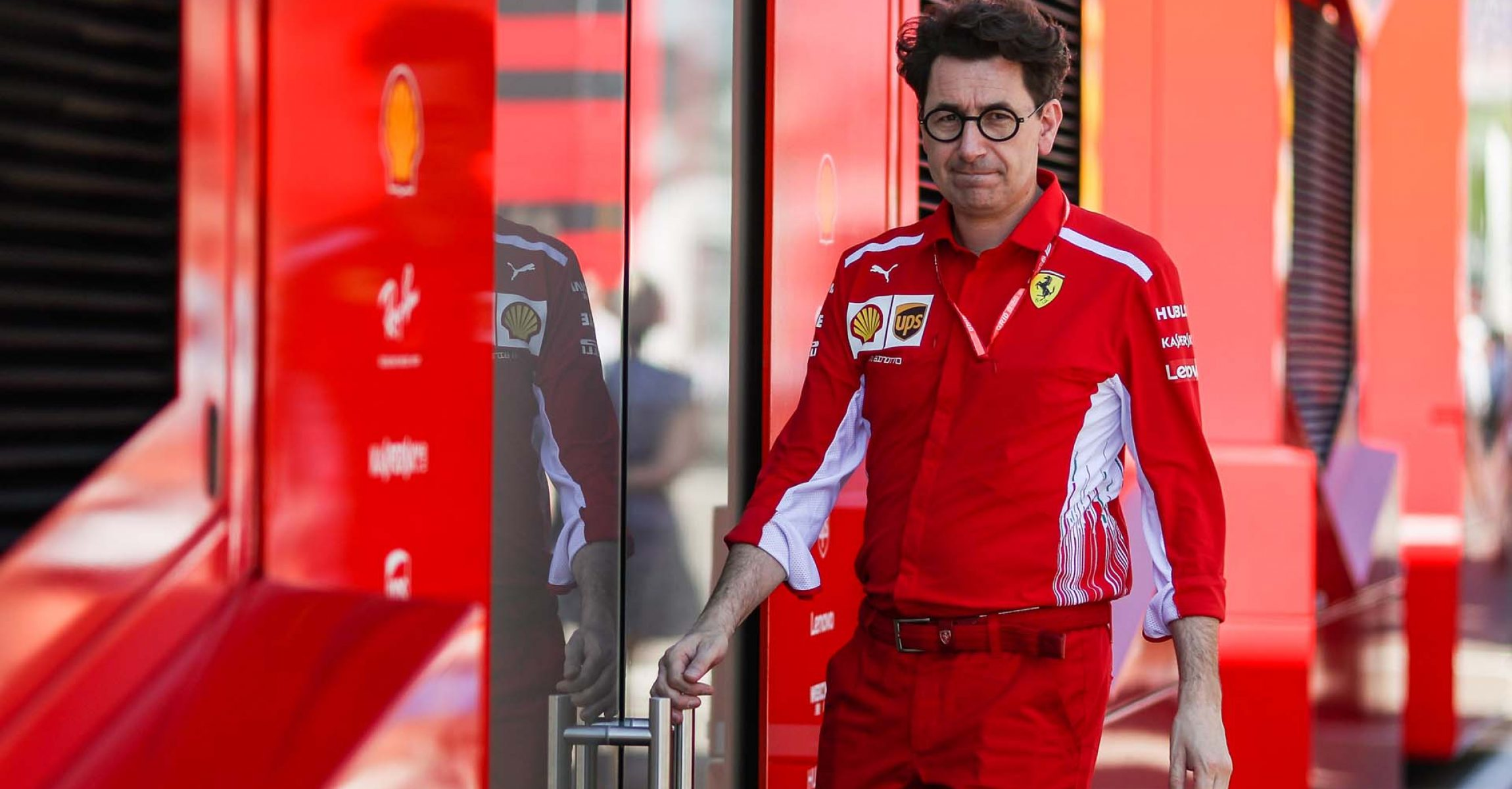 SPIELBERG,AUSTRIA,29.JUN.19 - MOTORSPORTS, FORMULA 1 - Grand Prix of Austria, Red Bull Ring, qualification. Image shows executive director Mattia Binotto (Ferrari). Photo: GEPA pictures/ Daniel Goetzhaber - For editorial use only. Image is free of charge.
