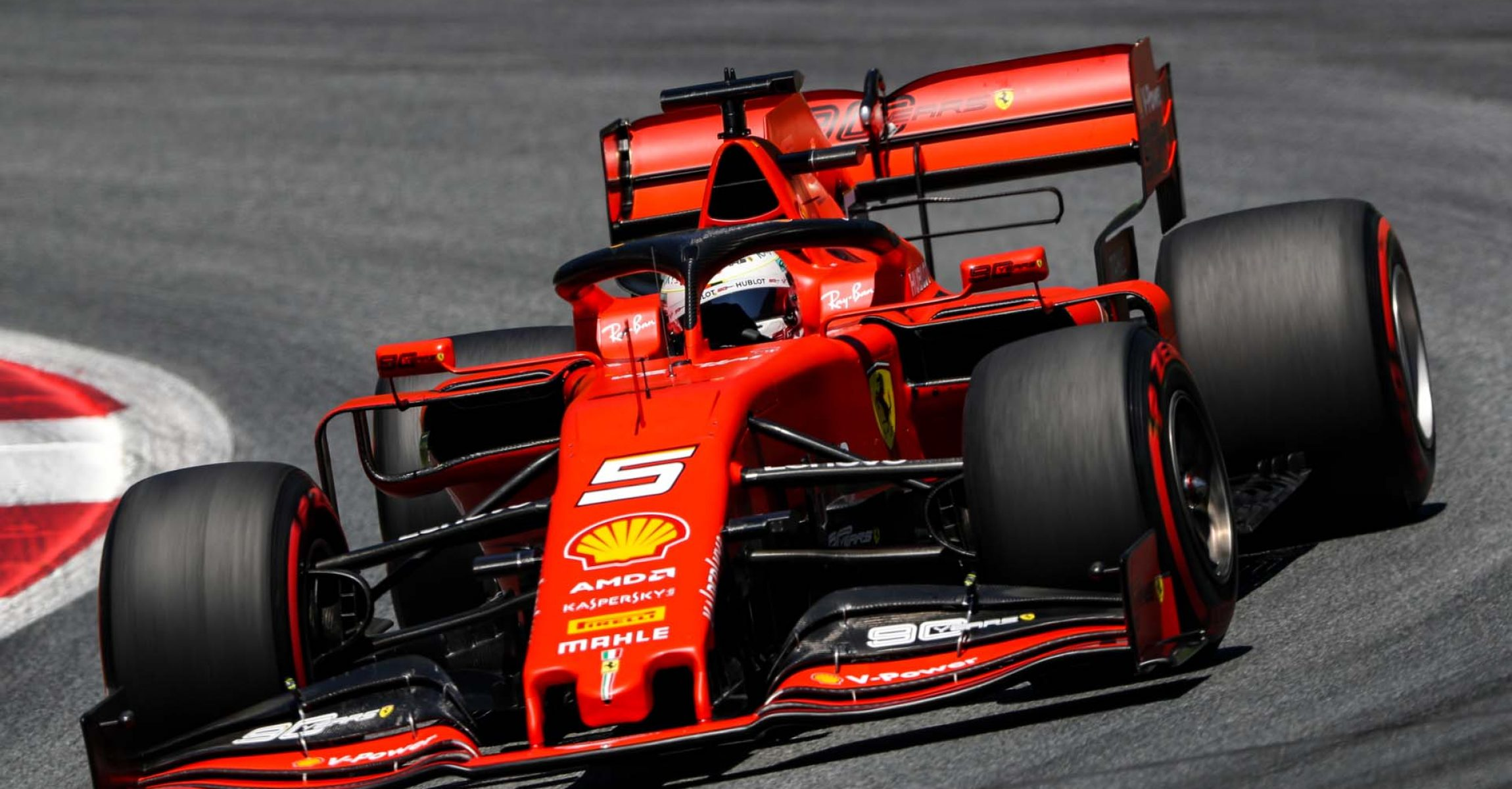 SPIELBERG,AUSTRIA,29.JUN.19 - MOTORSPORTS, FORMULA 1 - Grand Prix of Austria, Red Bull Ring, qualification. Image shows Sebastian Vettel (GER/ Ferrari). Photo: GEPA pictures/ Matic Klansek - For editorial use only. Image is free of charge.