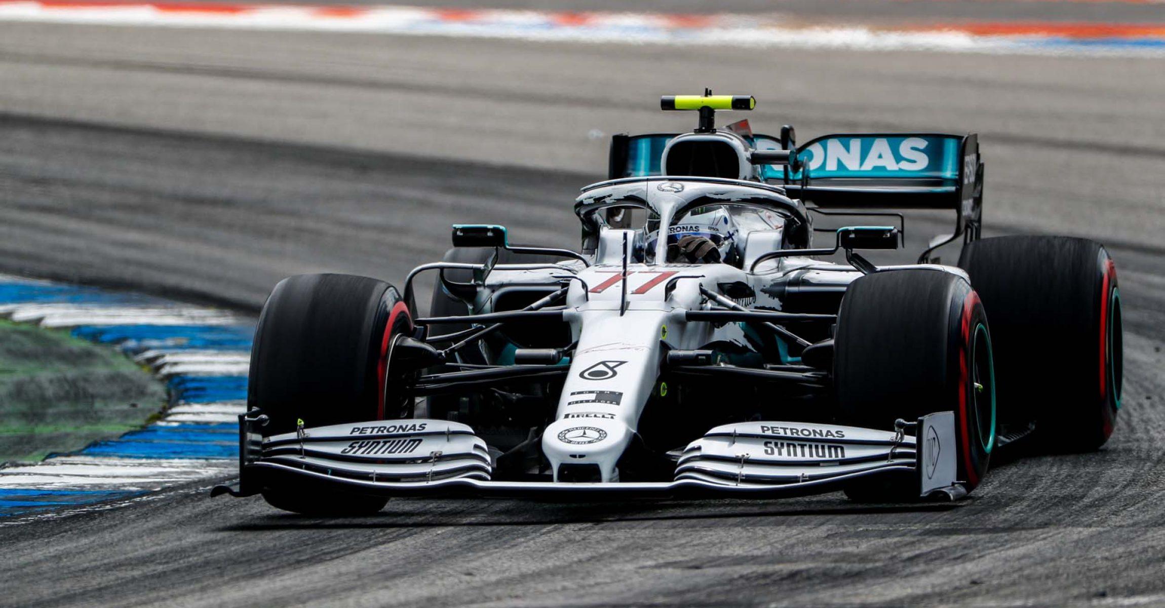 2019 German Grand Prix, Saturday - LAT Images Valtteri Bottas Mercedes