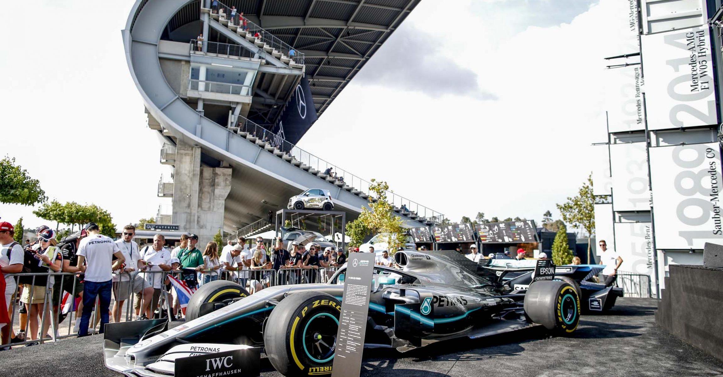 2019 German Grand Prix, Sunday - Wolfgang Wilhelm