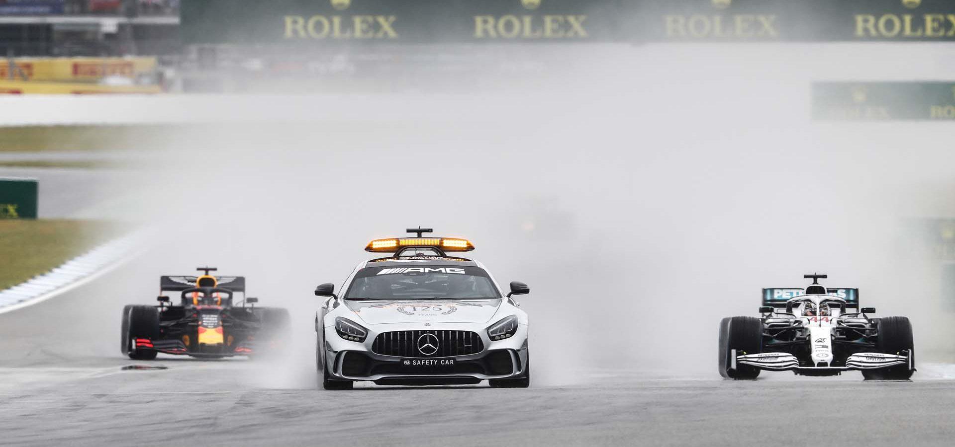 2019 German Grand Prix, Sunday - LAT Images Safety Car Mercedes Lewis Hamilton