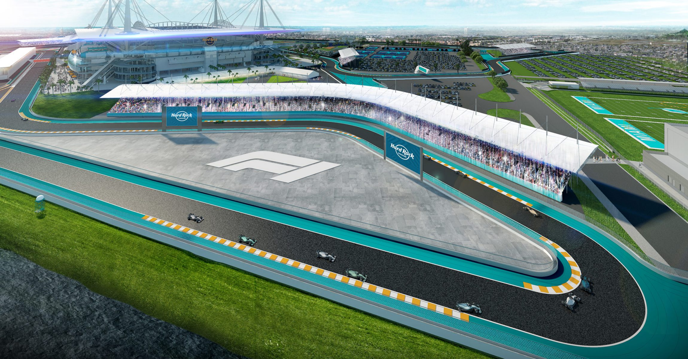 Miami Grand Prix Hard Rock Stadium