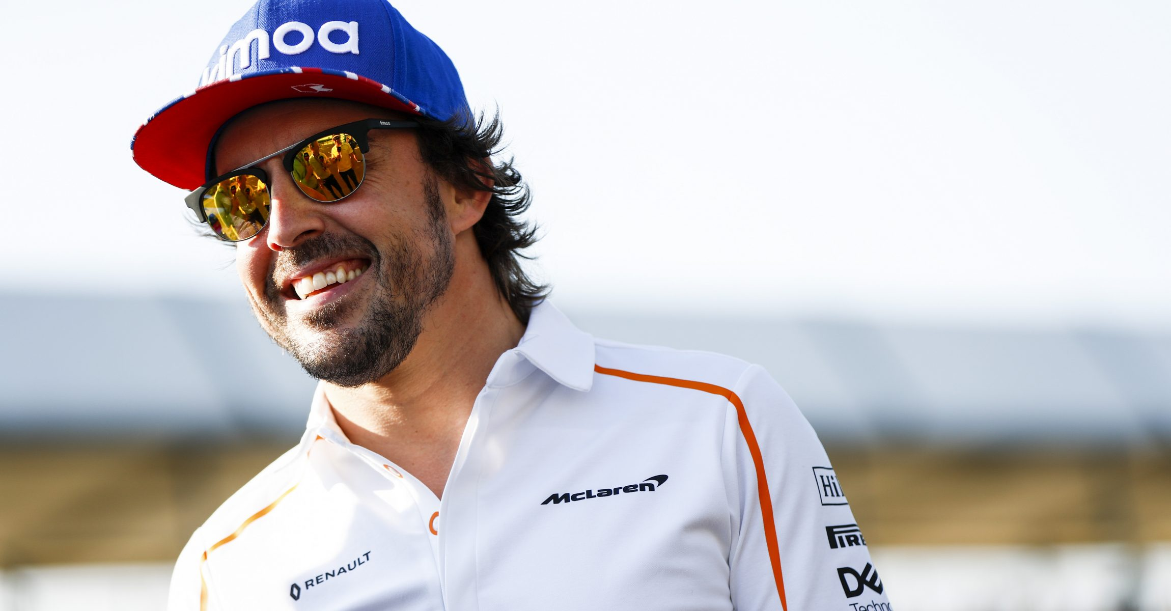 Silverstone Circuit, Northamptonshire, UK Thursday 5 July 2018. Fernando Alonso, McLaren. Photo: Glenn Dunbar/McLaren ref: Digital Image _X4I4576