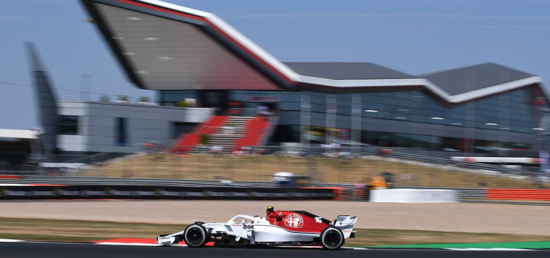 Charles Leclerc (MON) Alfa Romeo Sauber C37 at Formula One World Championship, Rd10, British Grand Prix, Practice, Silverstone, England, Friday 6 July 2018.
