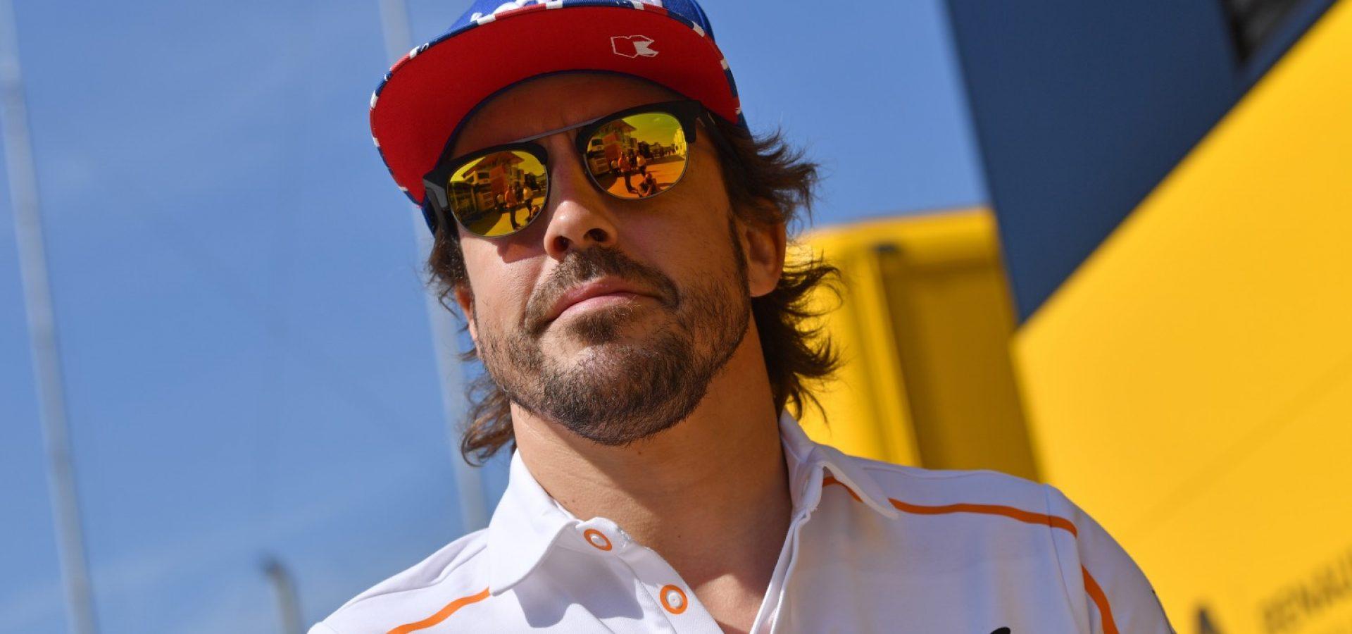 Silverstone Circuit, Northamptonshire, UK Saturday 7 July 2018. Fernando Alonso, McLaren. Photo: Jerry Andre/McLaren ref: Digital Image dcb1807jy05