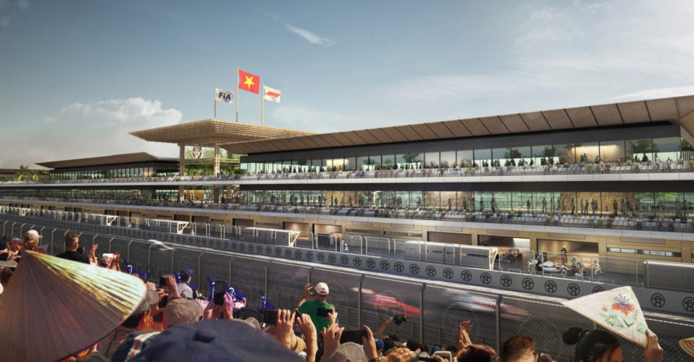 Hano F1 track, Vietnam, render