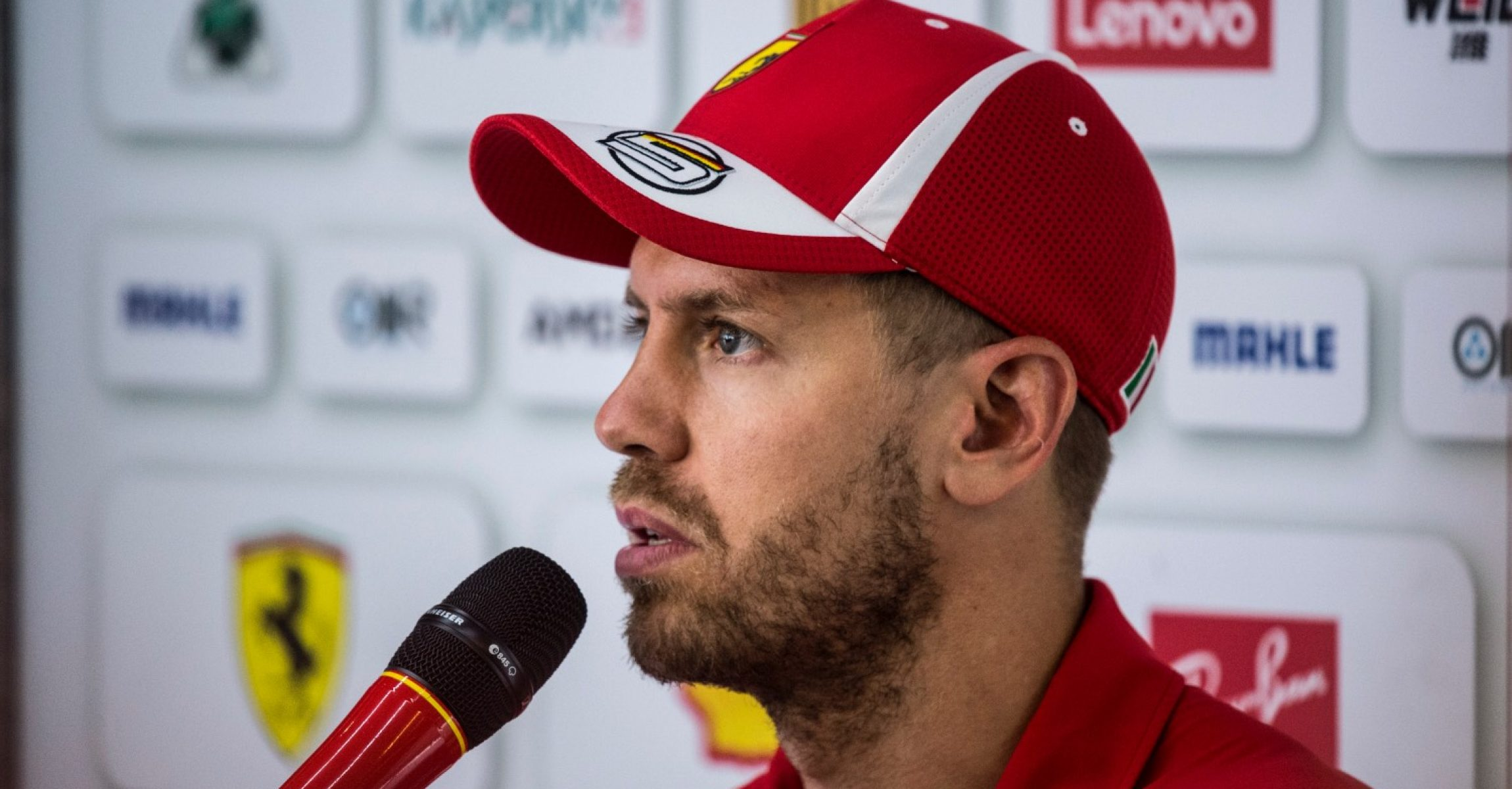 Sebastian Vettel, Ferrari, Hungaroring