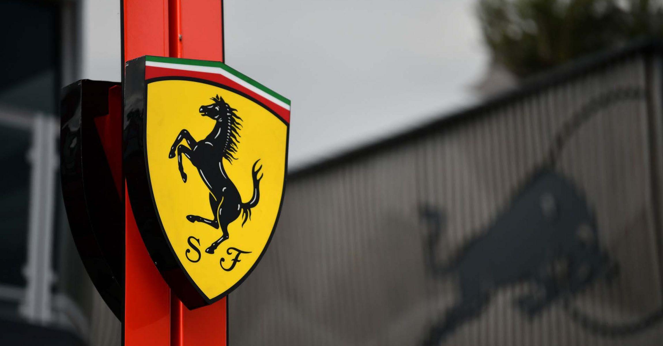 Ferrari logo Red Bull logo