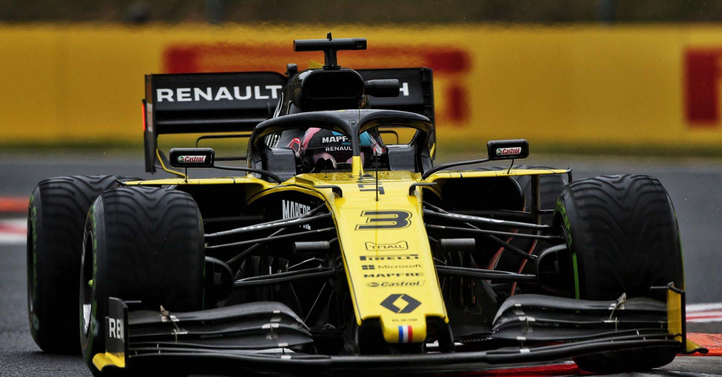 Daniel Ricciardo (AUS) Renault F1 Team RS19. Hungarian Grand Prix, Friday 2nd August 2019. Budapest, Hungary.