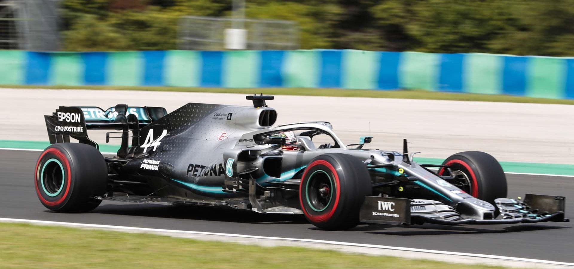 2019 Hungarian Grand Prix, Saturday - LAT Images Lewis Hamilton Mercedes