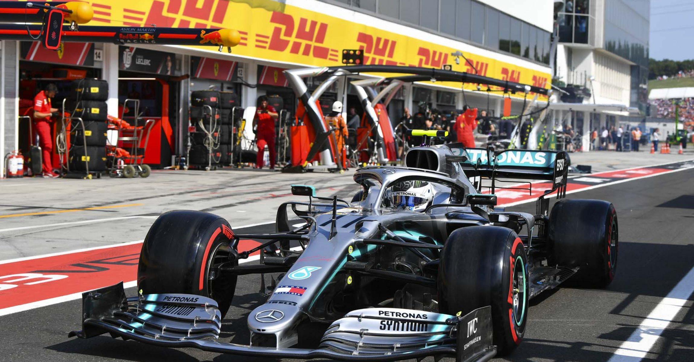 2019 Hungarian Grand Prix, Saturday - LAT Images Valtteri Bottas Mercedes