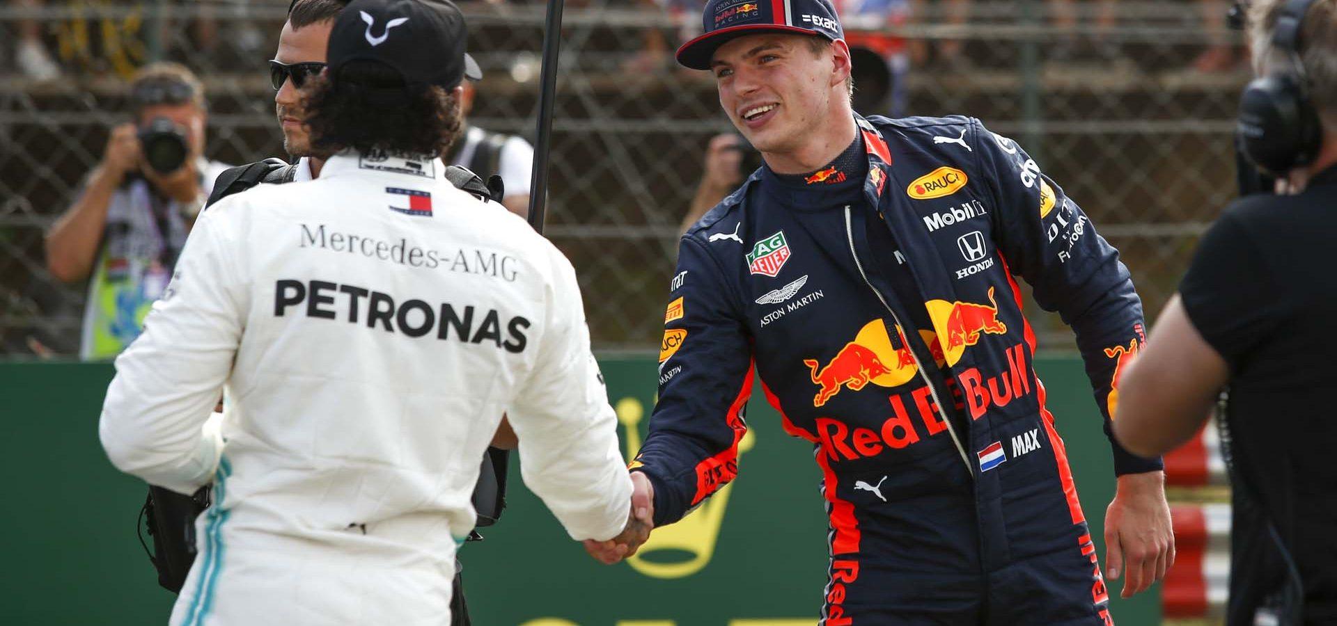 2019 Hungarian Grand Prix, Saturday - Wolfgang Wilhelm Lewis Hamilton Max Verstappen
