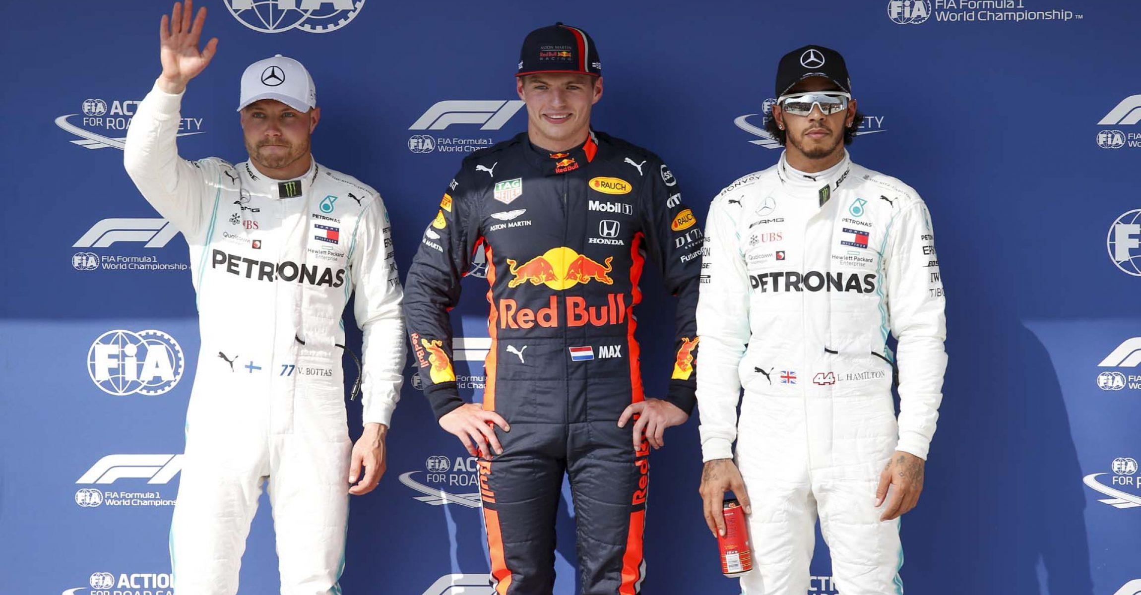 2019 Hungarian Grand Prix, Saturday - Wolfgang Wilhelm Valtteri Bottas Max Verstappen Lewis Hamilton
