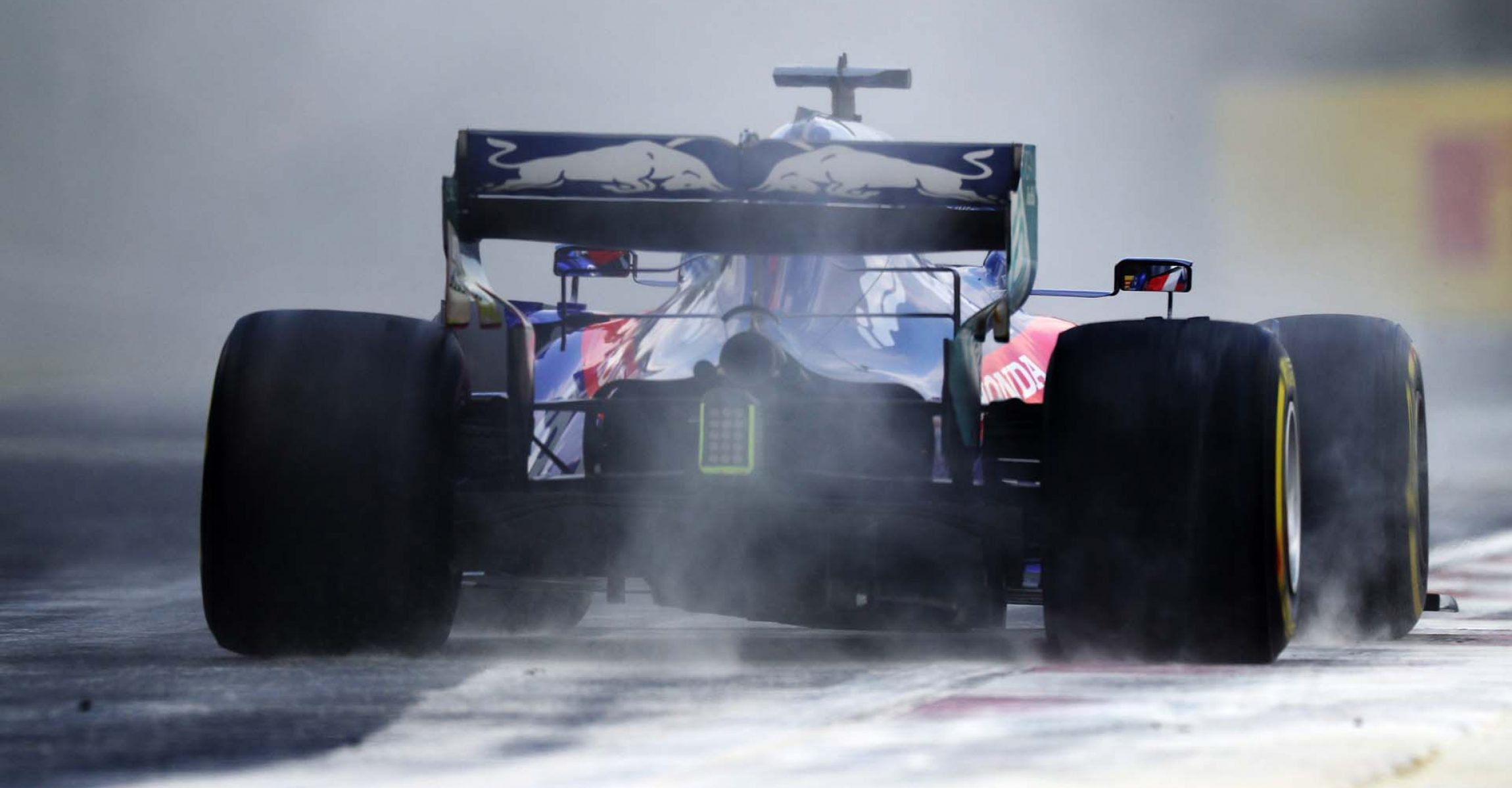 BUDAPEST, HUNGARY - AUGUST 03: Daniil Kvyat driving the (26) Scuderia Toro Rosso STR14 Honda on track during final practice for the F1 Grand Prix of Hungary at Hungaroring on August 03, 2019 in Budapest, Hungary. (Photo by Mark Thompson/Getty Images) // Getty Images / Red Bull Content Pool  // AP-2156ZKHAW1W11 // Usage for editorial use only // Please go to www.redbullcontentpool.com for further information. //
