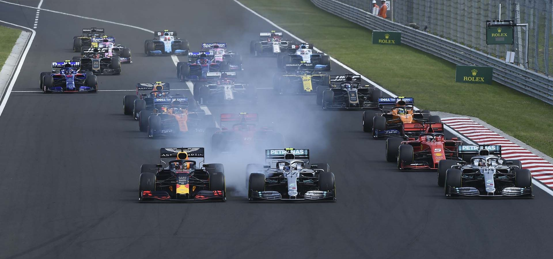 Hungarian GP, start, Hungaroring