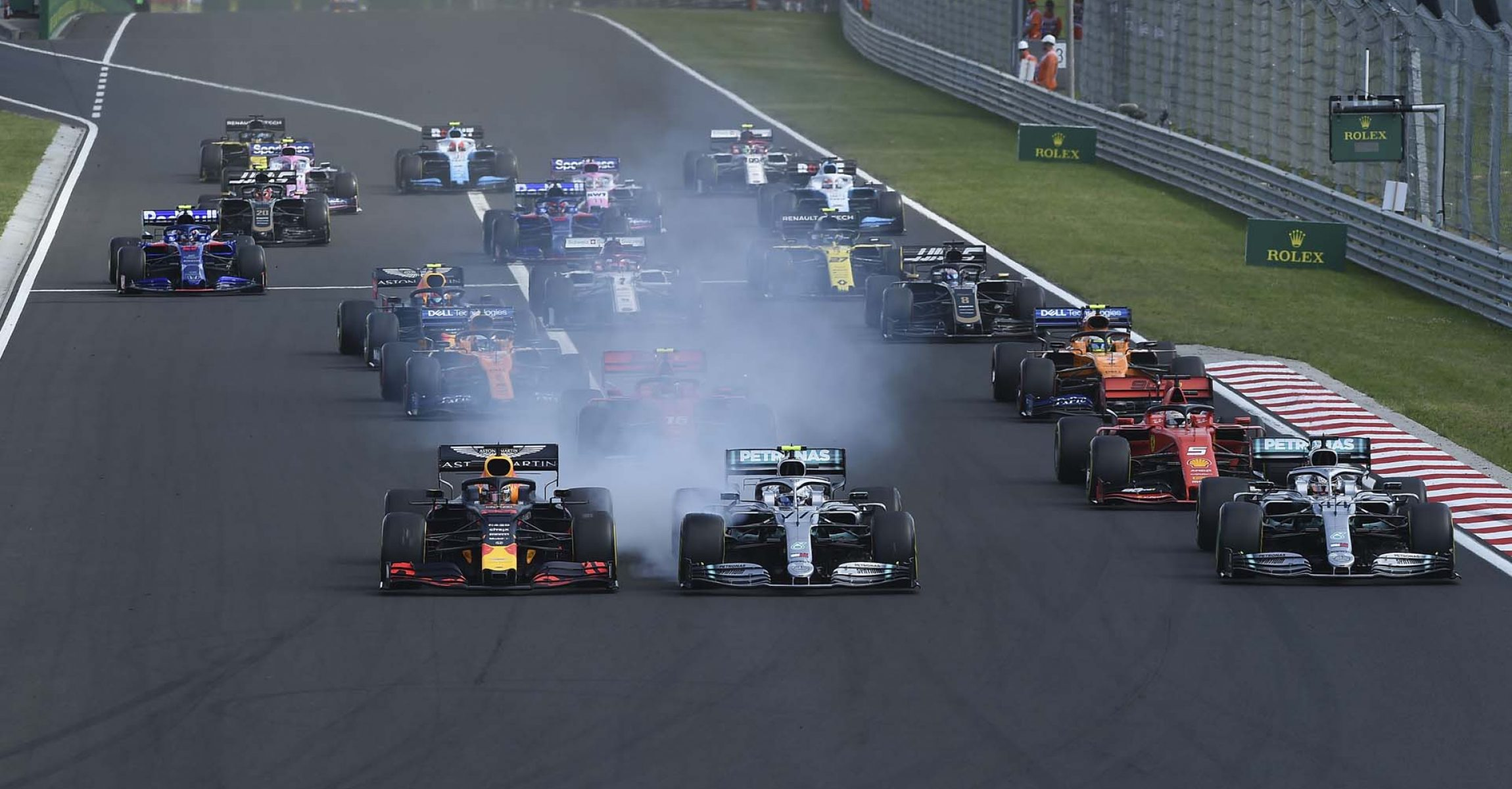 Hungarian GP, start, Hungaroring