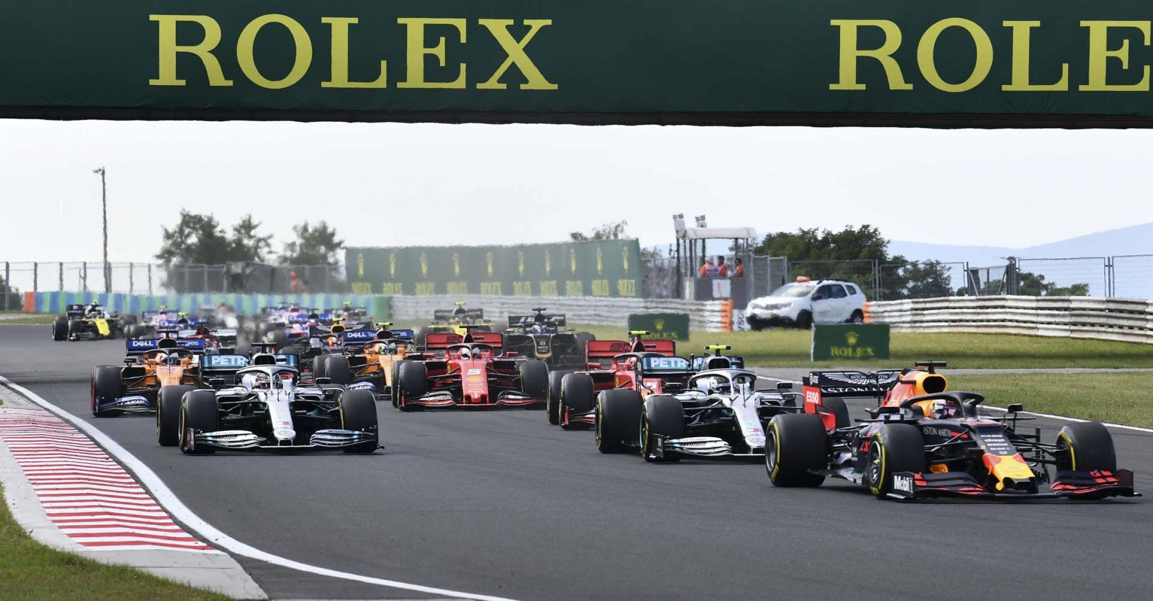 Hungaroring, Hungarian GP 2019, start
